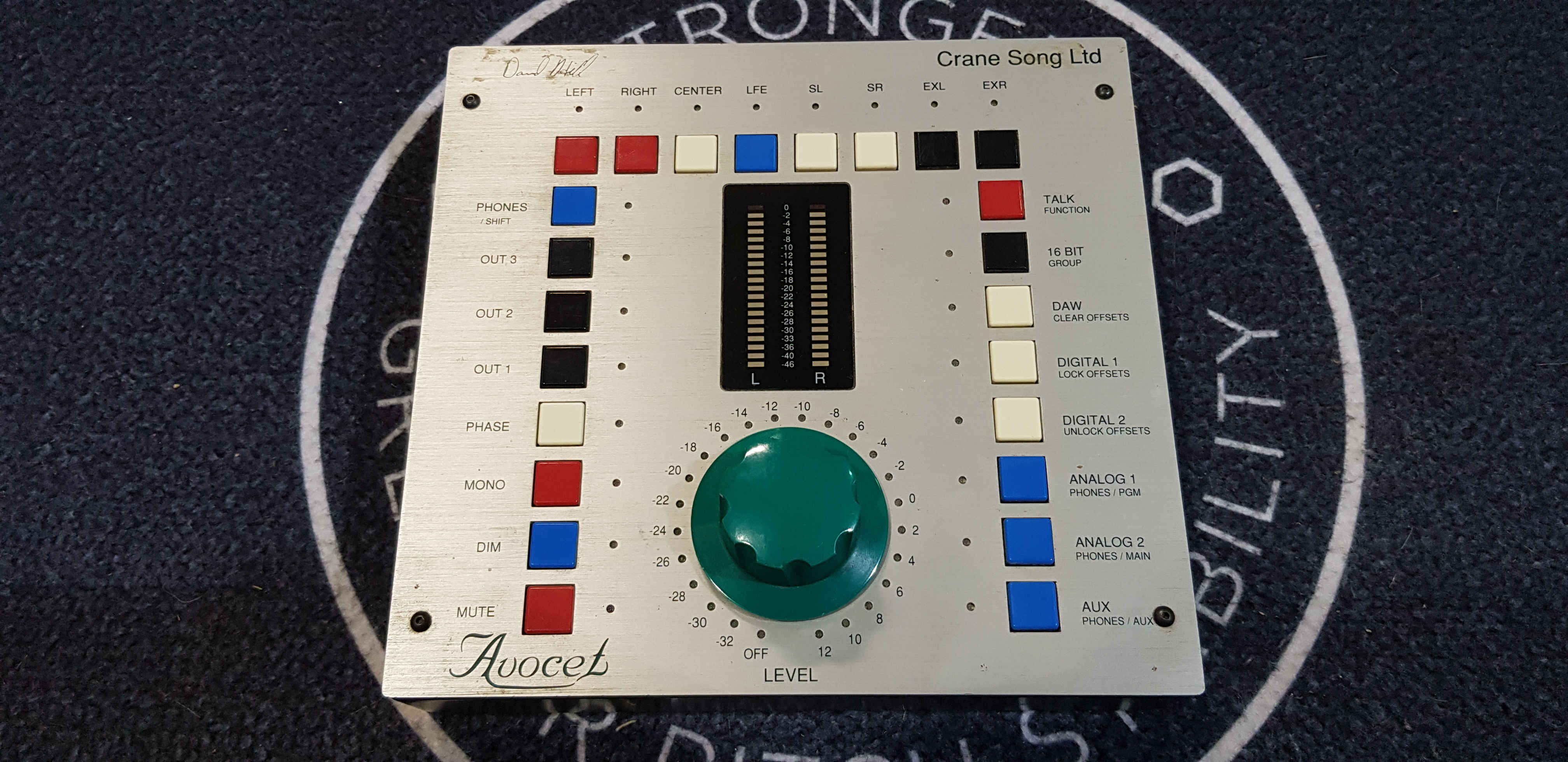 CRANE SONG LTD AVOCET Stereo Monitor Controller - LOCAL PICKUP ONLY!