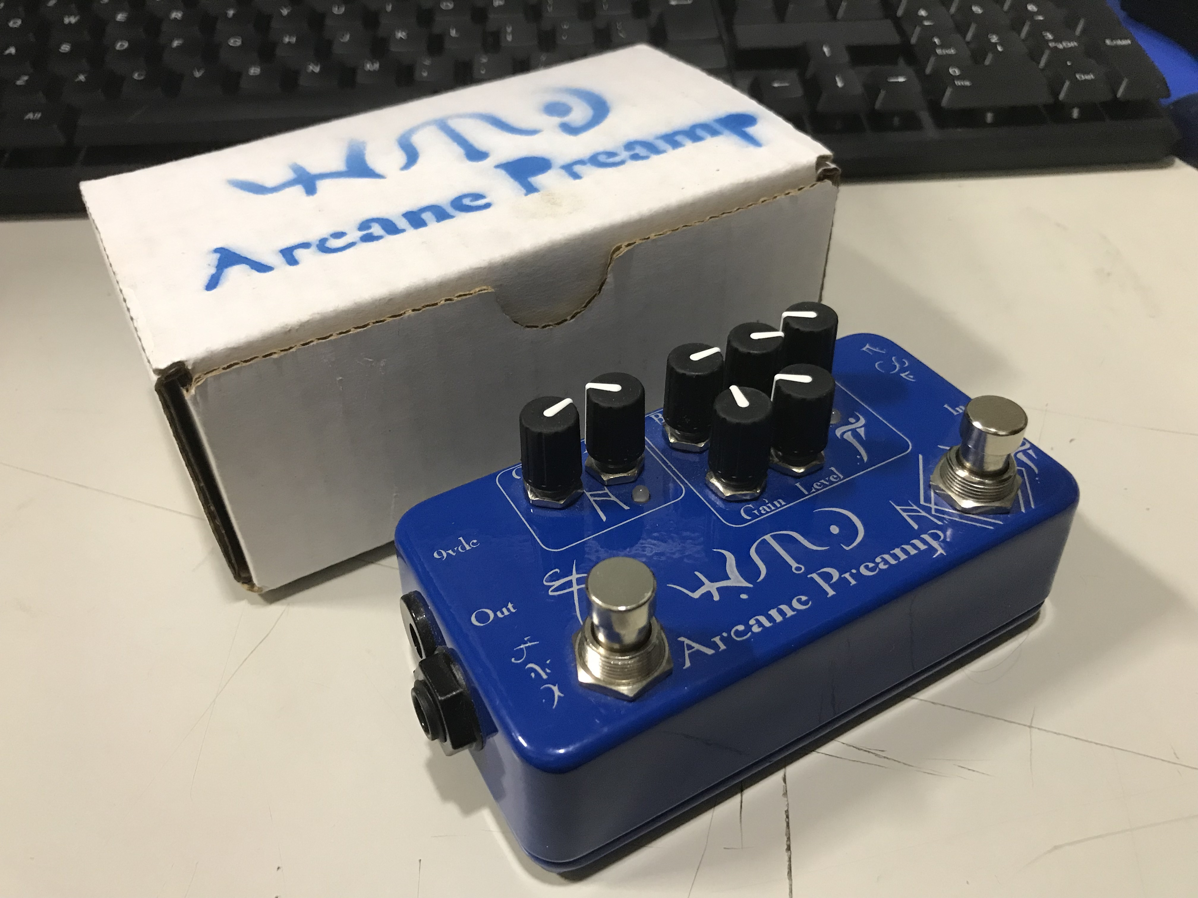 WMD ARCANE PREAMP Overdrive Fuzz Effect Pedal