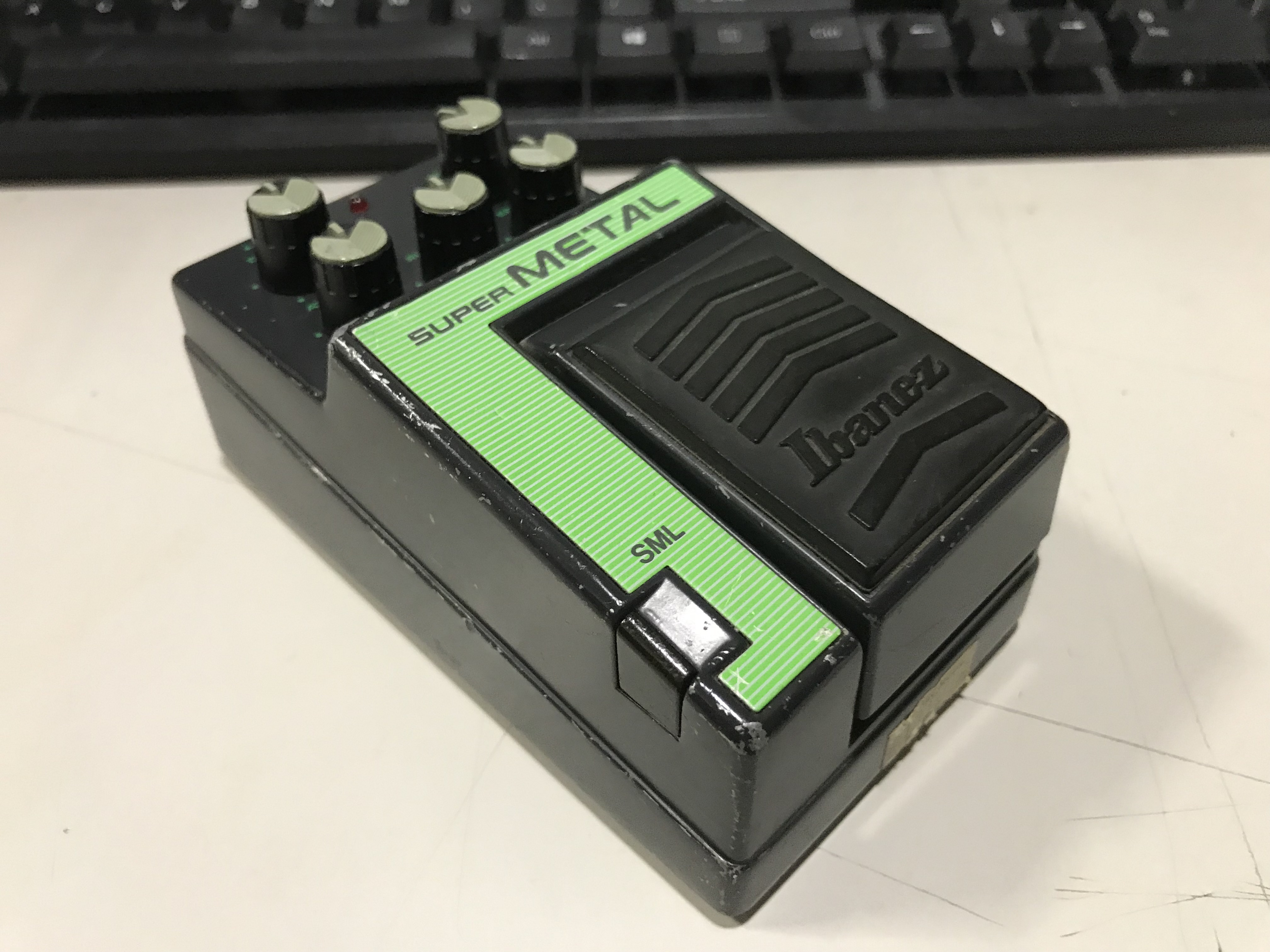 IBANEZ SML SUPER METAL Distortion Effect Pedal