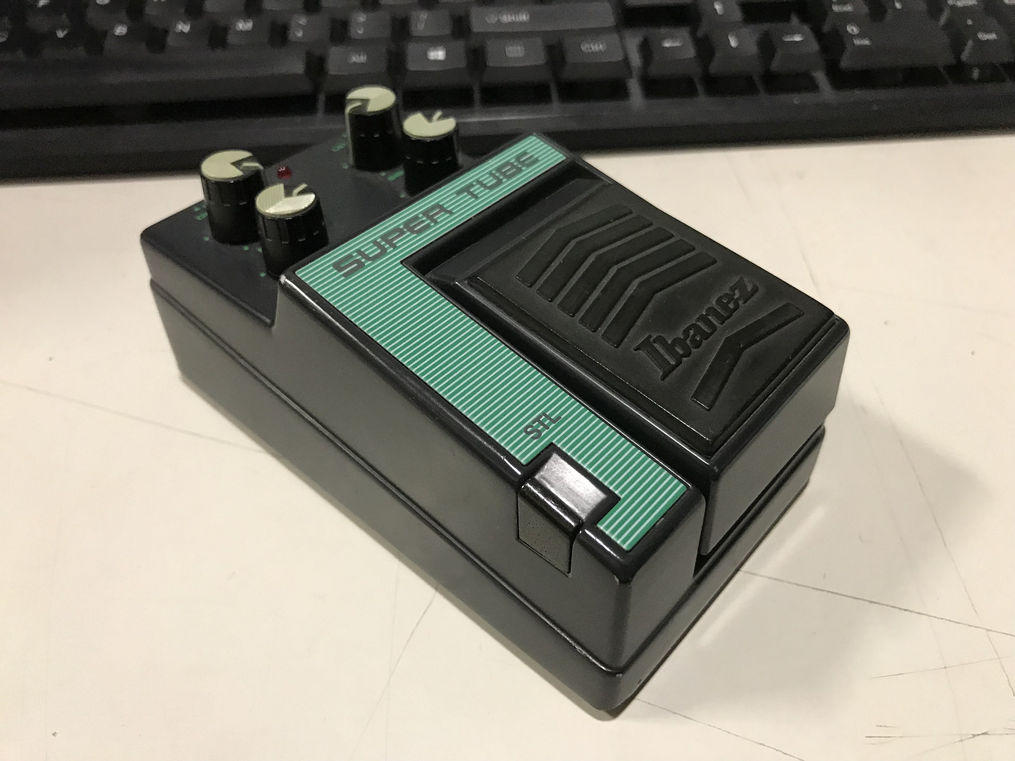 IBANEZ STL SUPER TUBE Overdrive Effect Pedal CLEAN!!!