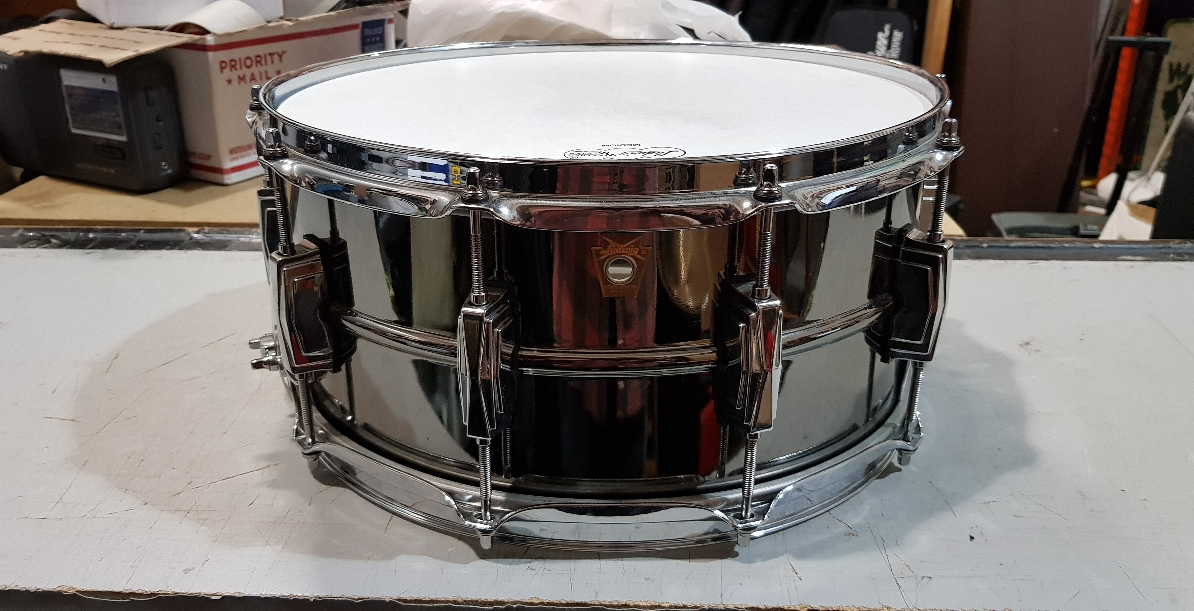 LUDWIG BLACK BEAUTY Snare Drum 6.5