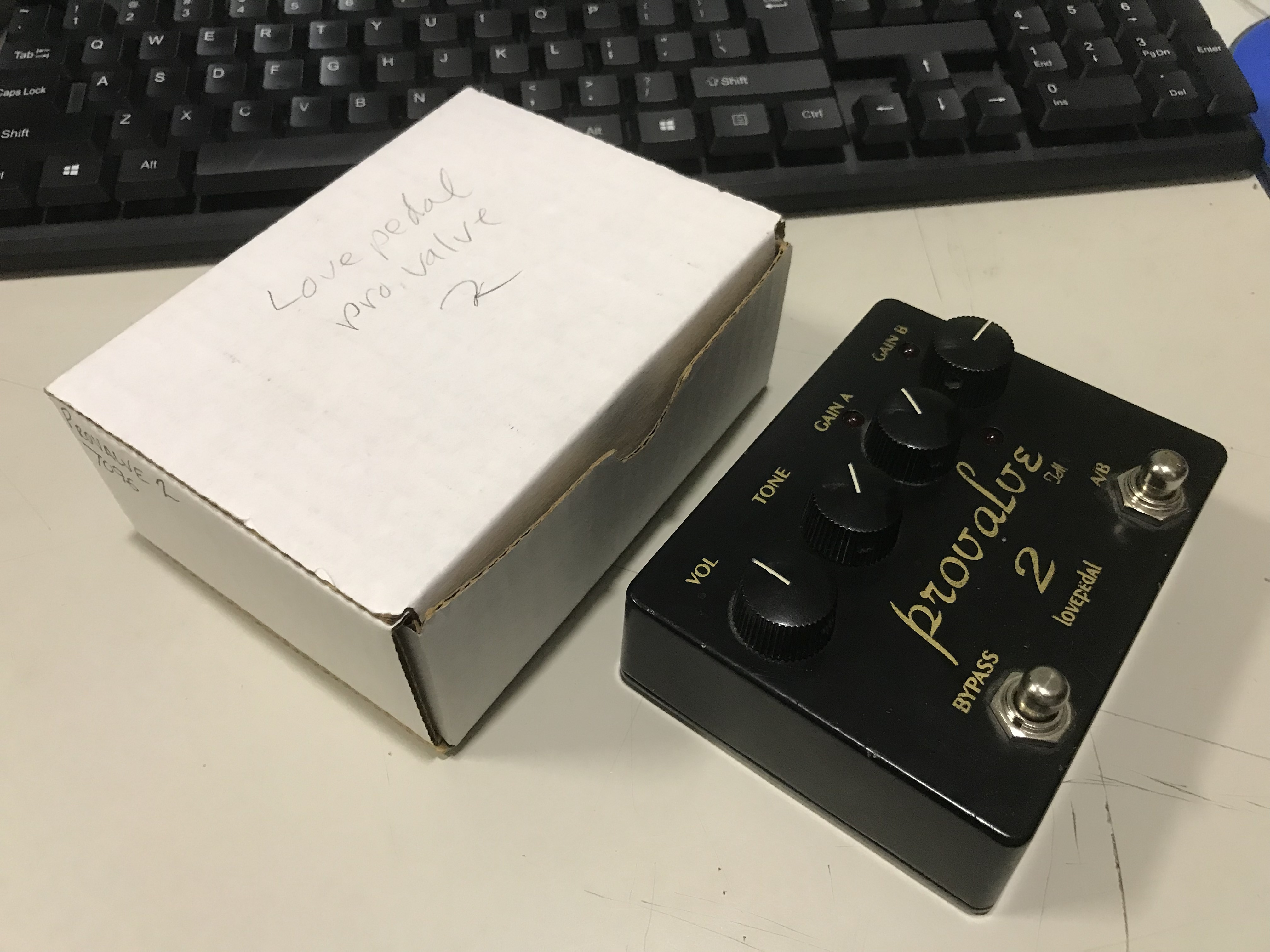 LOVEPEDAL PROVALVE 2 Distortion Effect Pedal