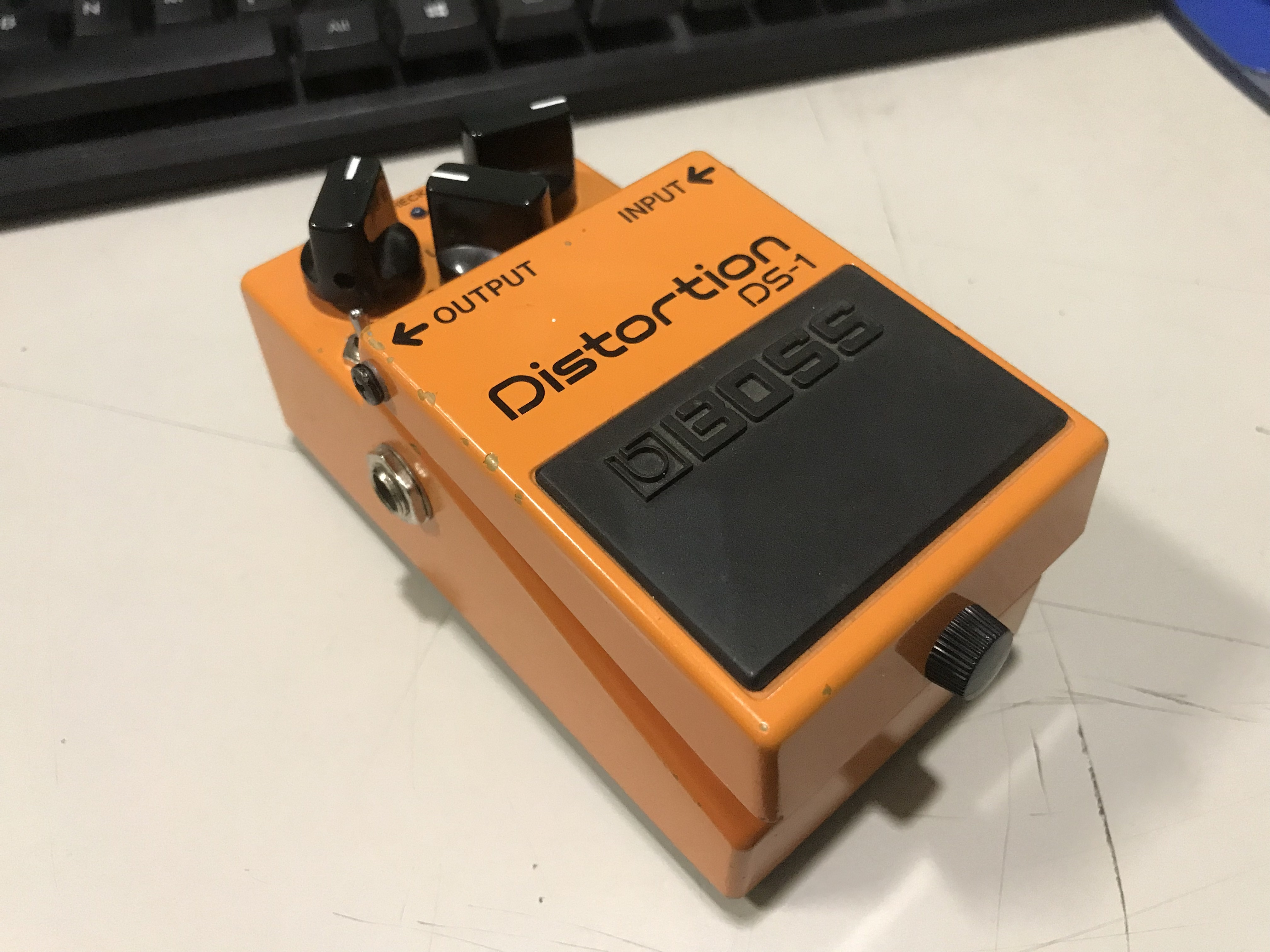 KEELEY MODDED BOSS DS-1 Distortion Effect Pedal