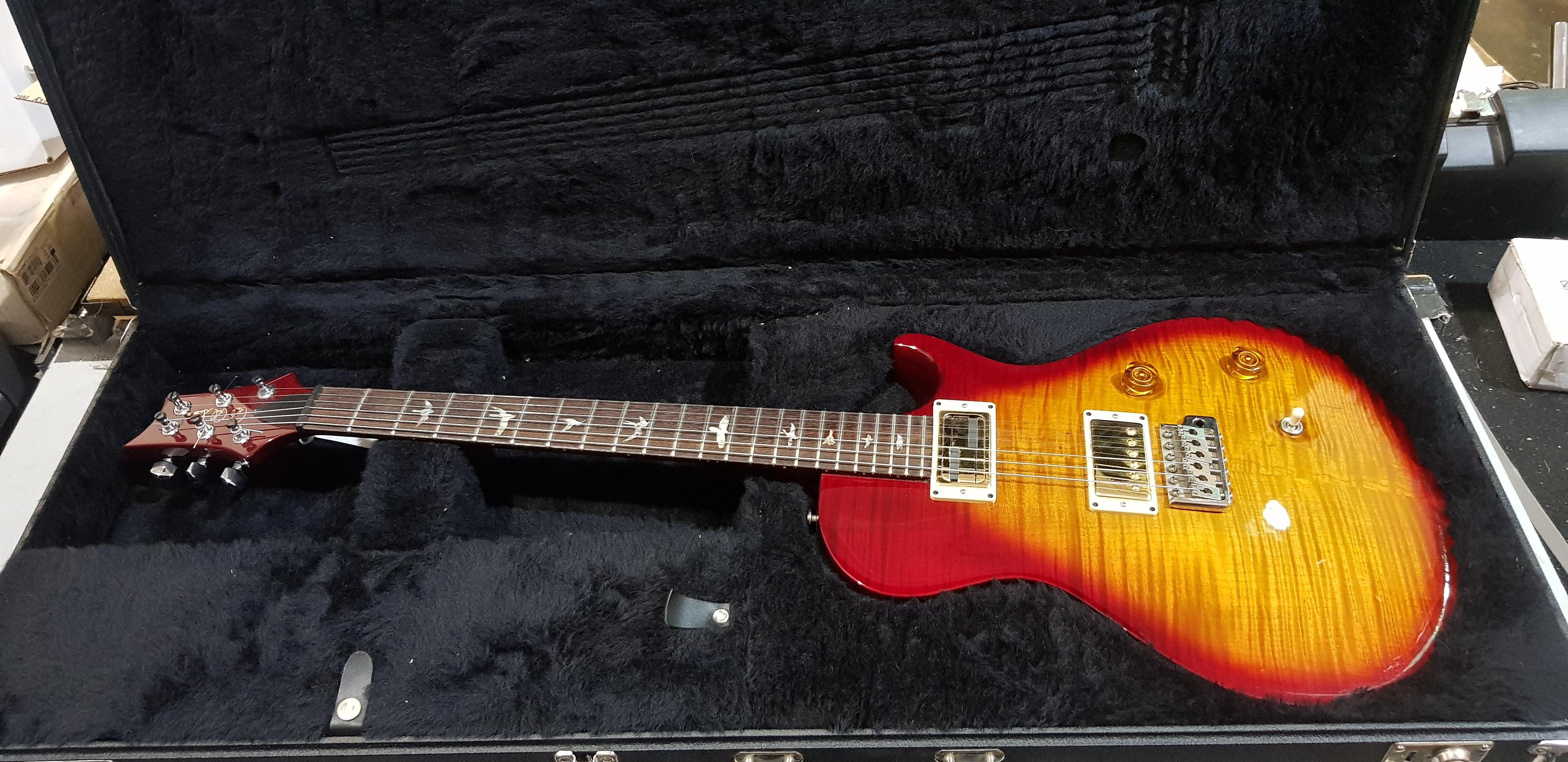 2006 PRS SINGLECUT TREM Electric Guitar **HSC** 10-Top Cherryburst