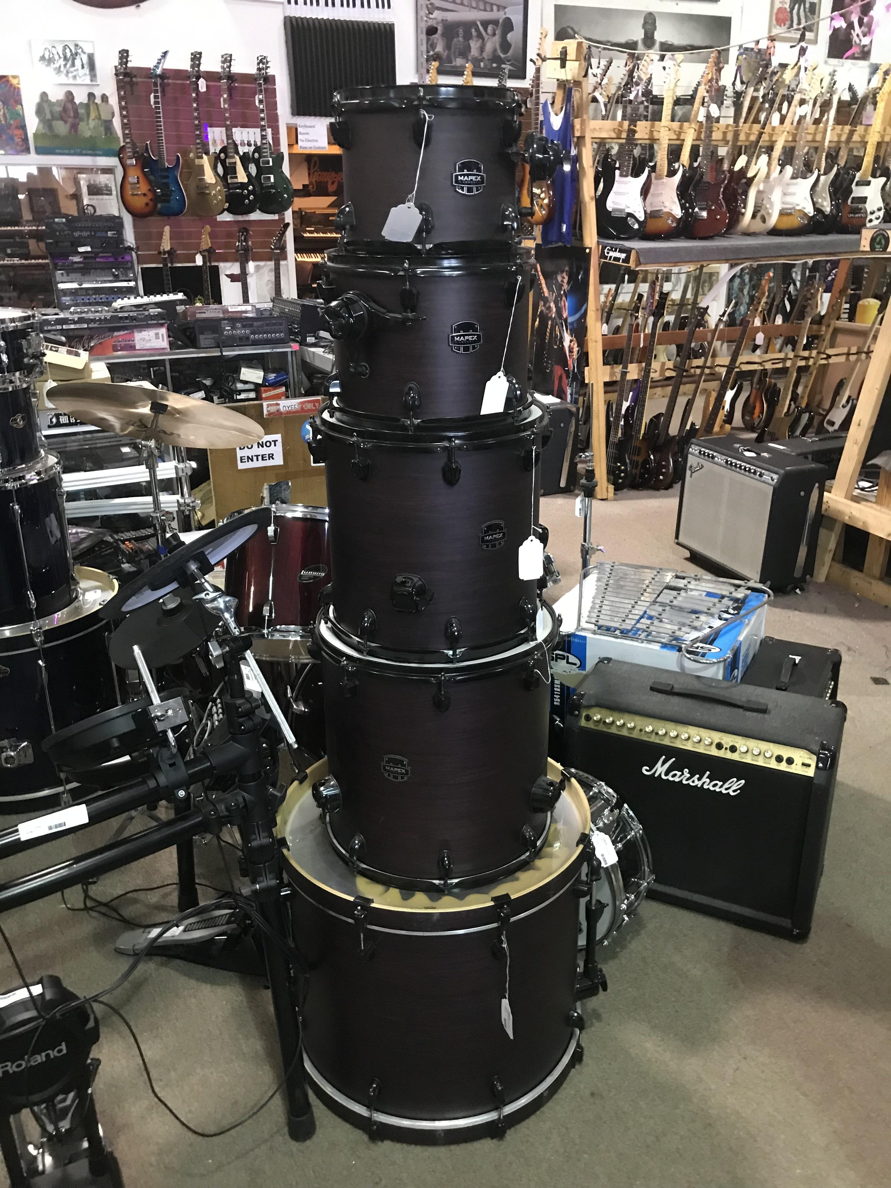 MAPEX ARMORY SERIES 5pc Exotic Studioease Drum Kit