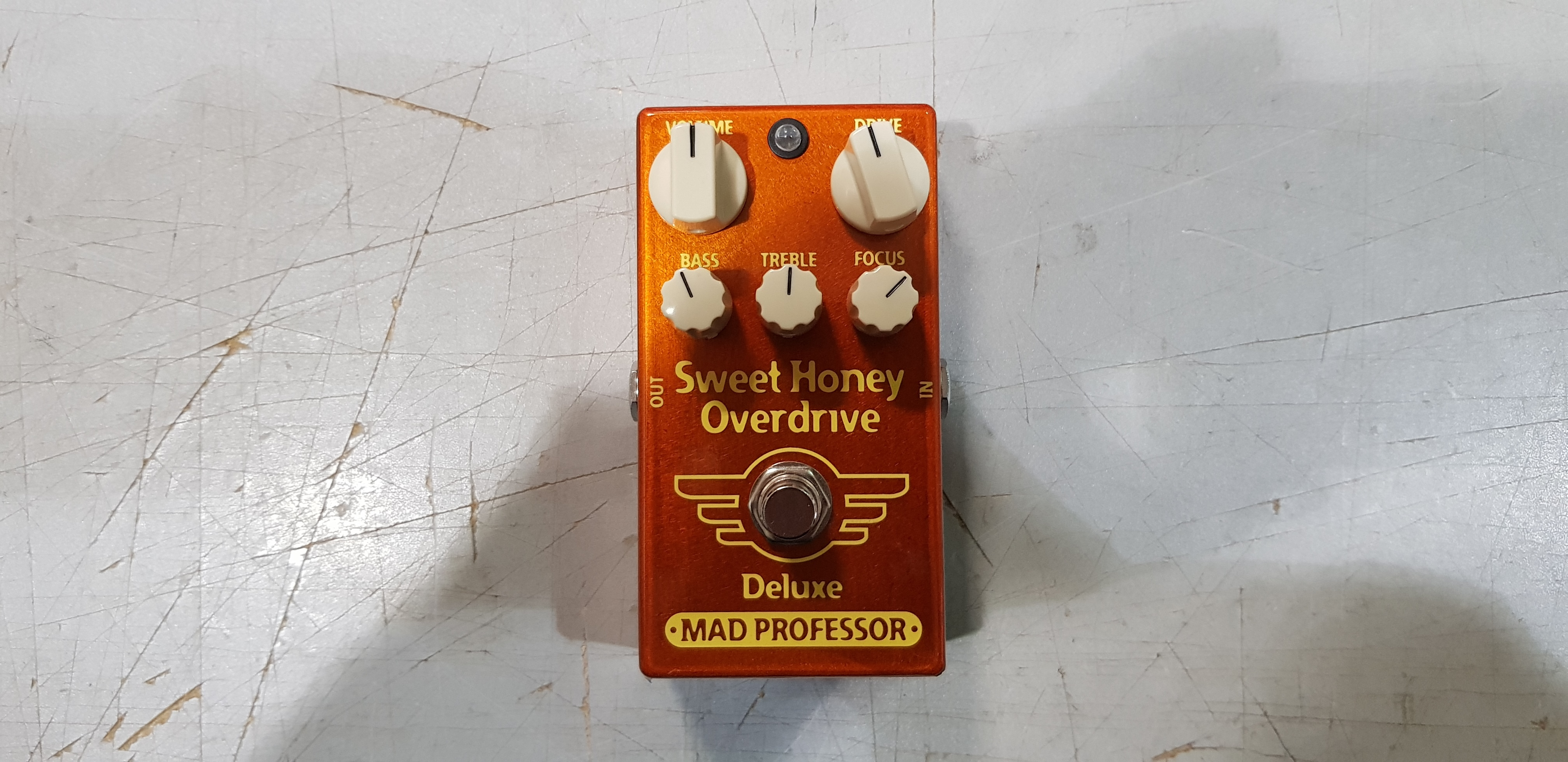 MAD PROFESSOR SWEET HONEY OVERDRIVE DELUXE Effect Pedal