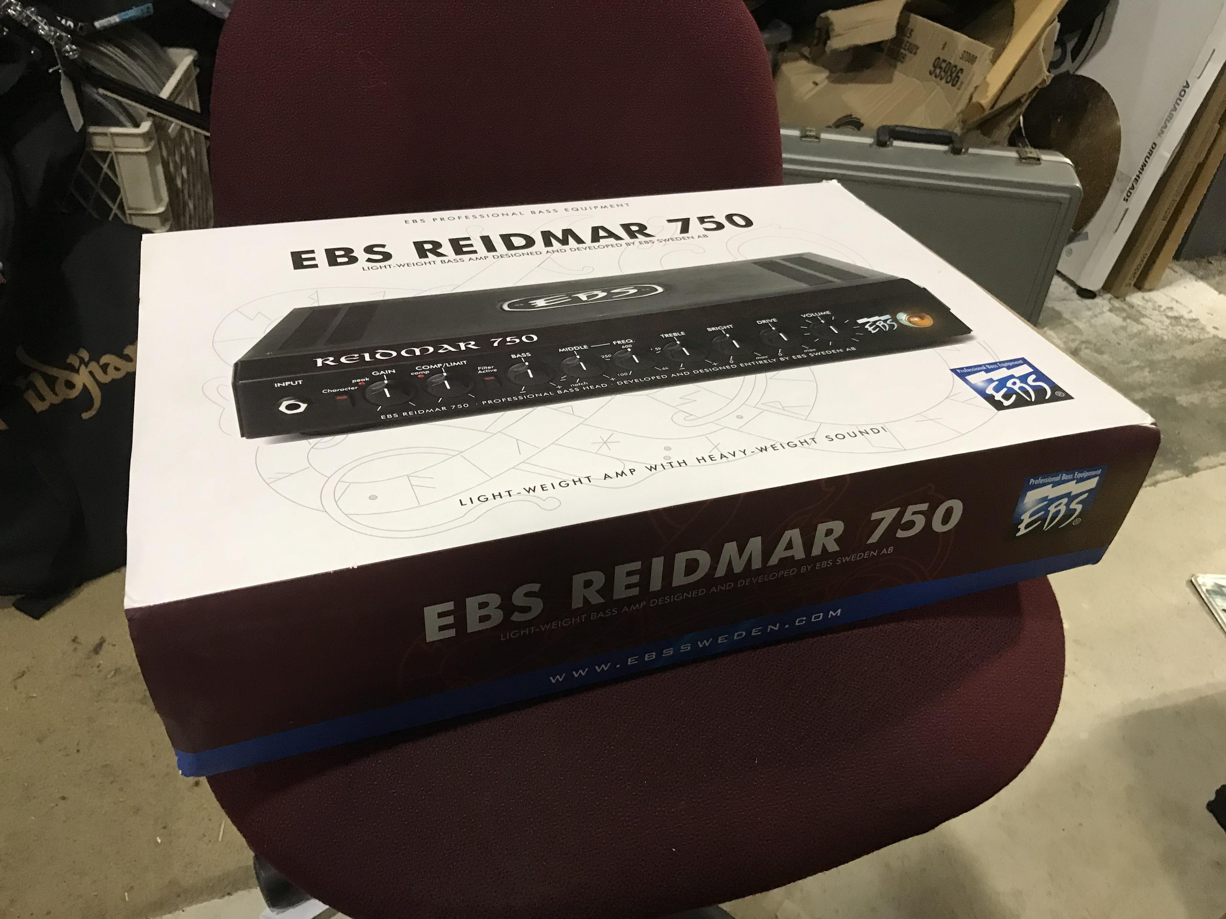 EBS REIDMAR 750 Professional Bass Head