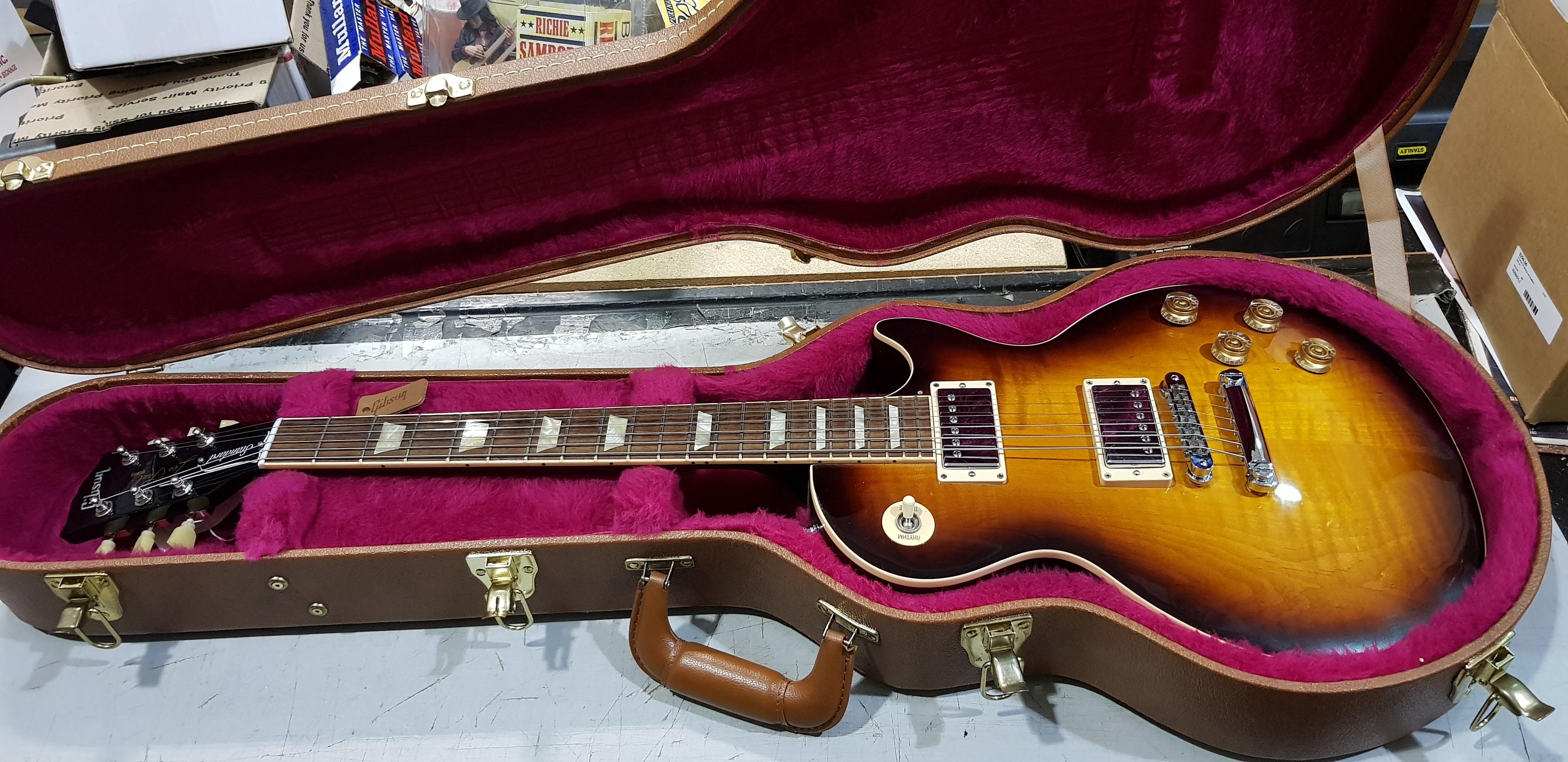 2011 GIBSON LES PAUL STANDARD Electric Guitar **HSC** Desert Burst