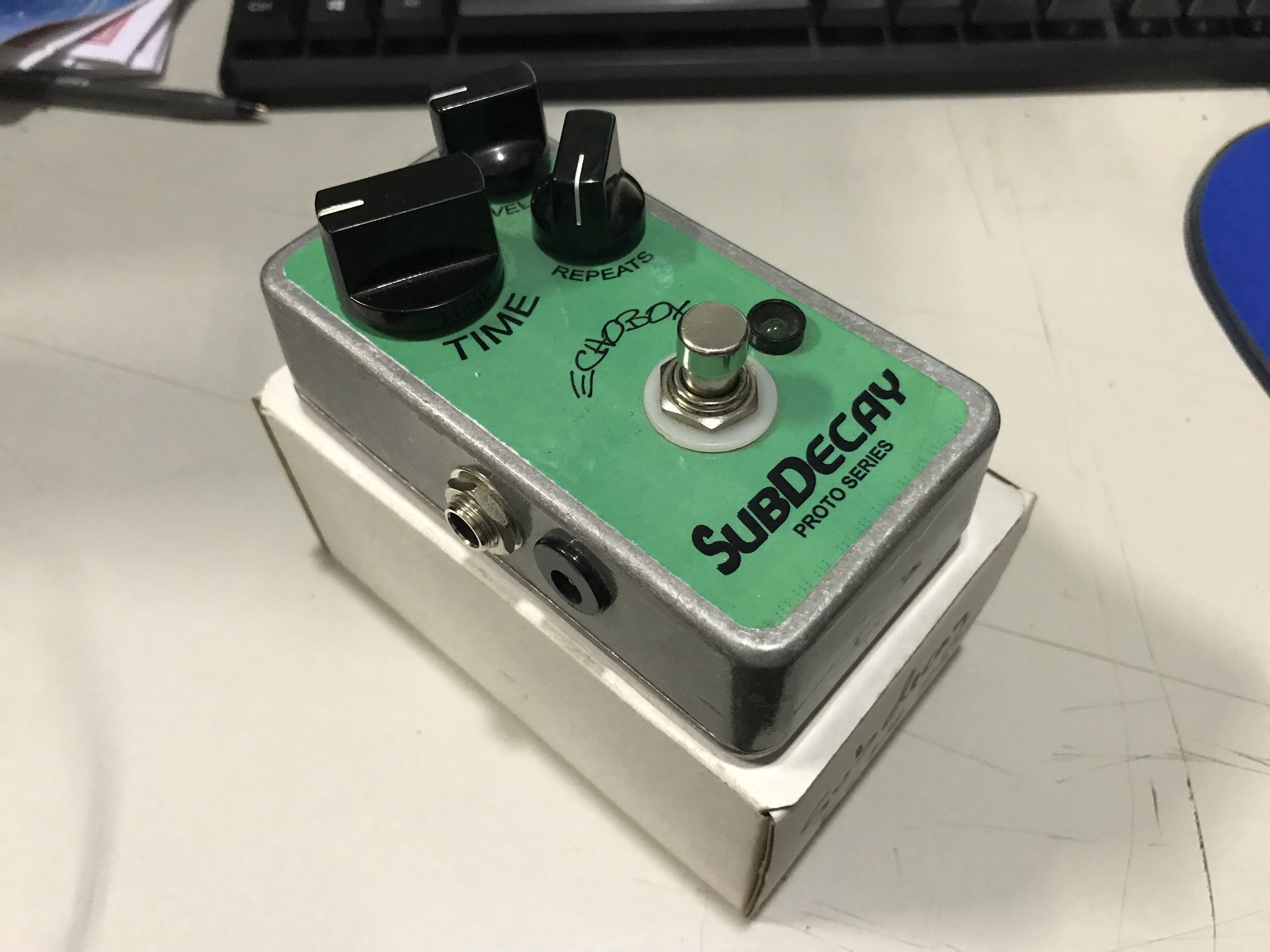 SUBDECAY ECHO BOX Proto Series Analog Delay Effect Pedal