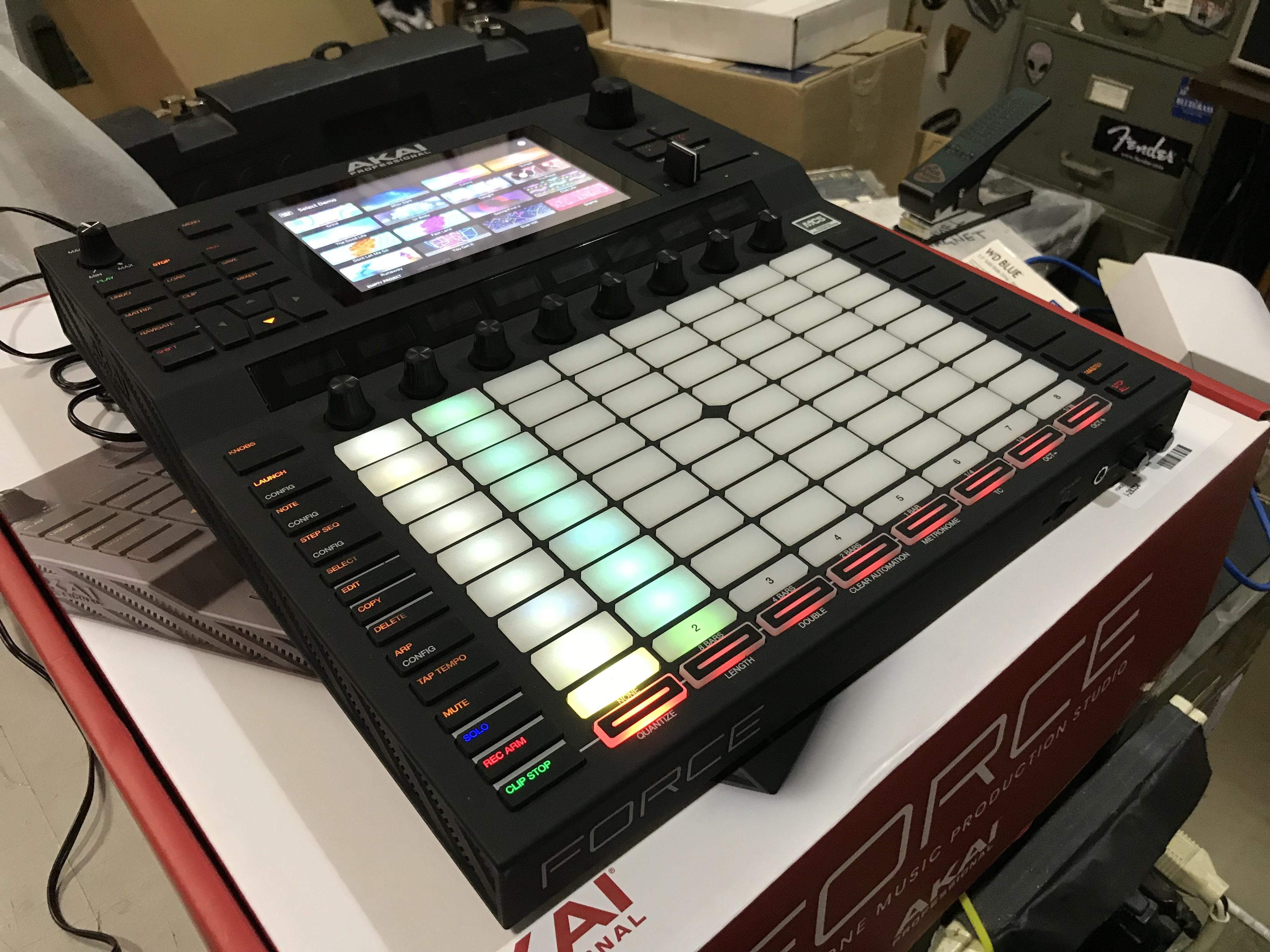 AKAI FORCE Standalone Music Production/DJ Performance System