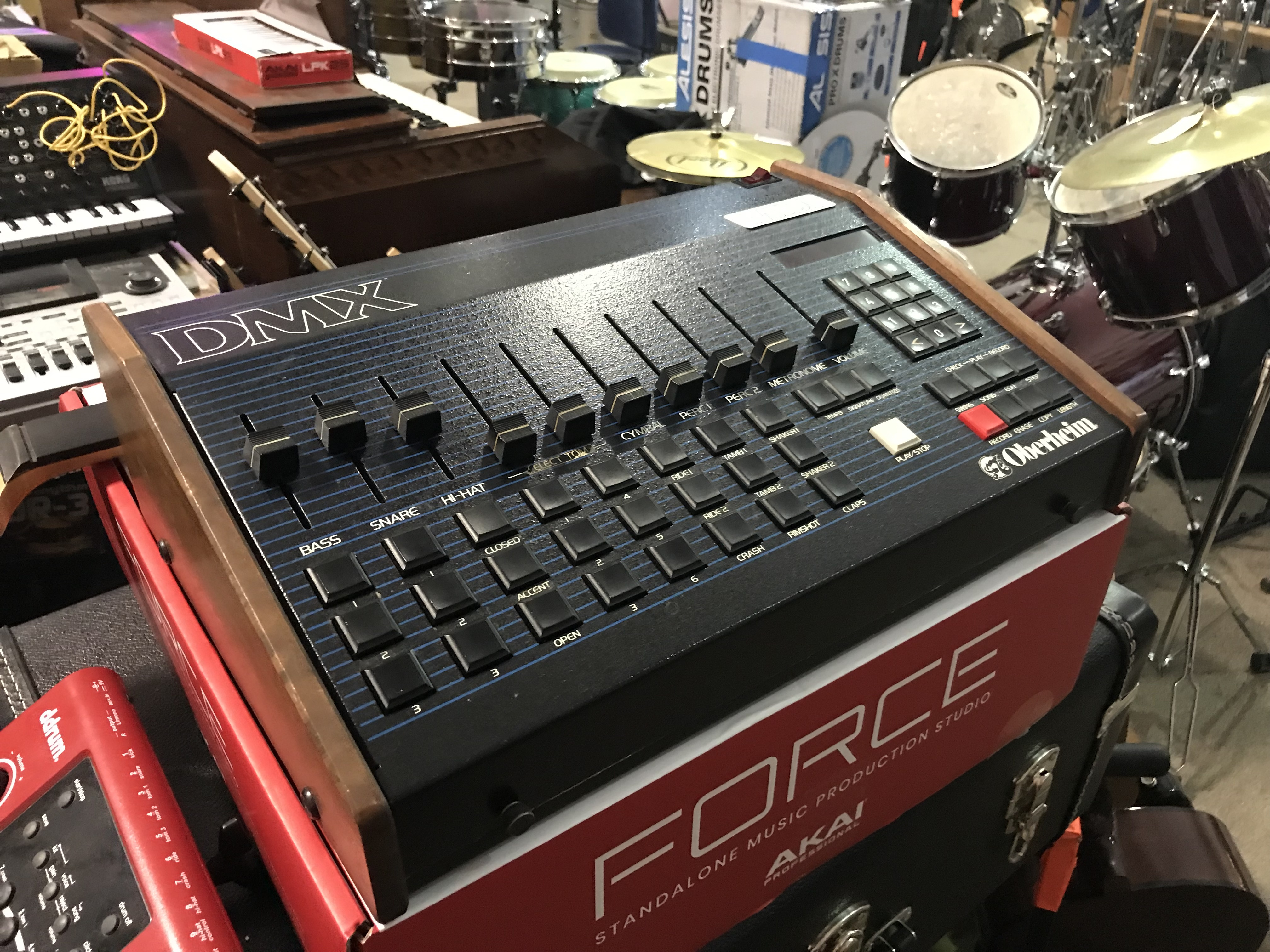 OBERHEIM DMX MIDI Memory Expansion Fully Serviced Drum Machine