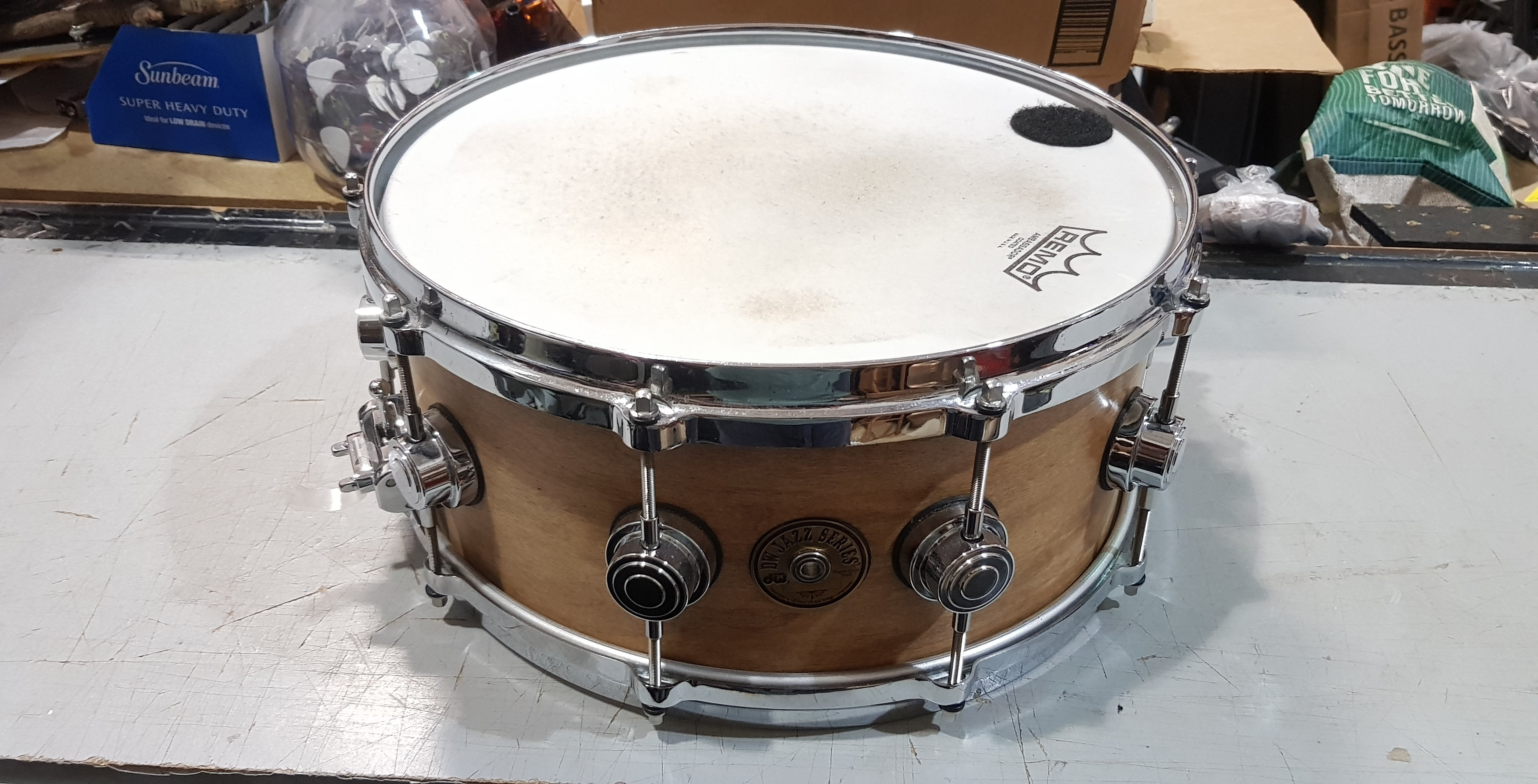 DW JAZZ SERIES Maple/Gum Shell Snare Drum 6