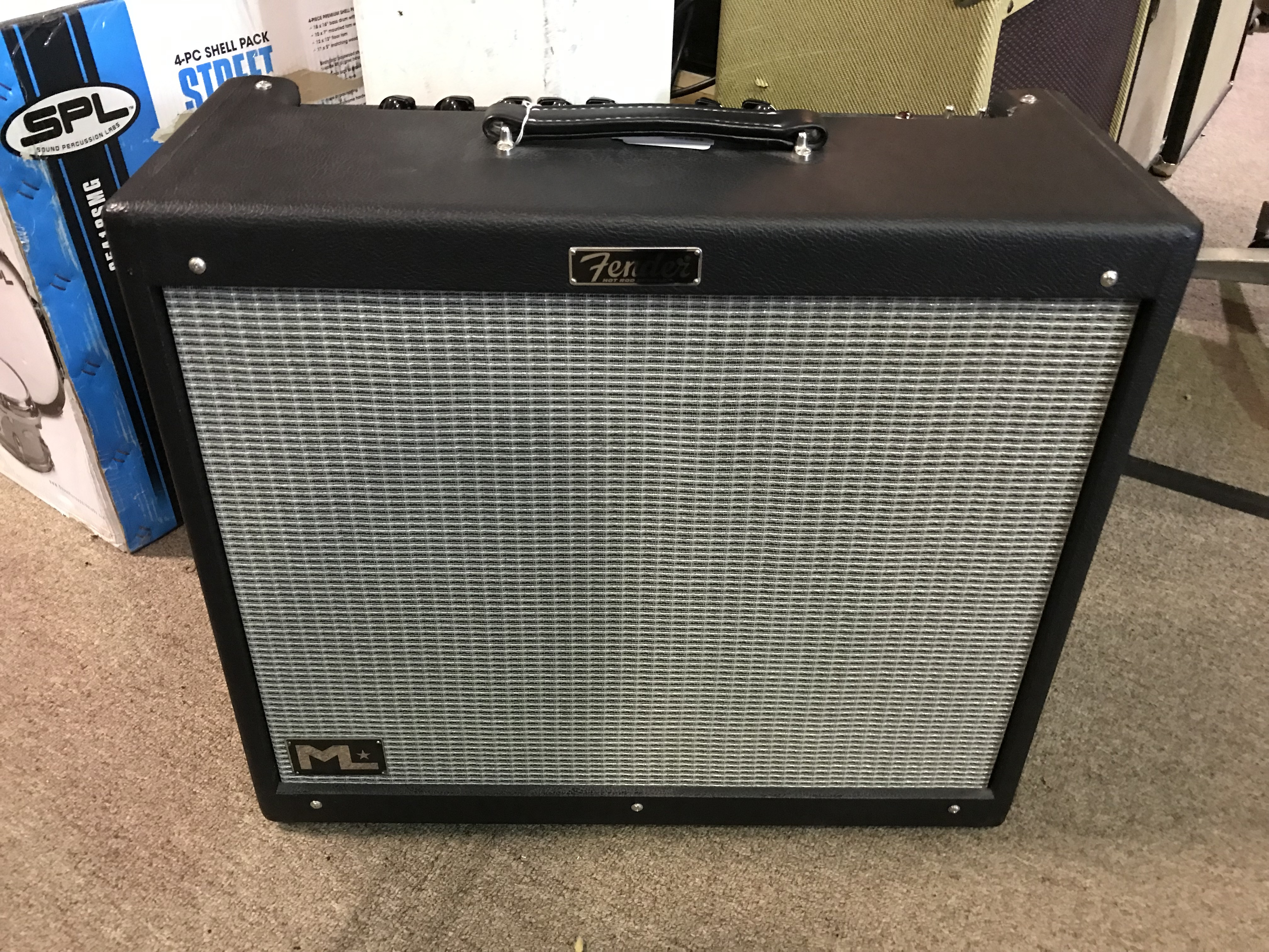 FENDER HOT ROD DEVILLE ML 212 60W 2X12 Tube Guitar Combo Amp