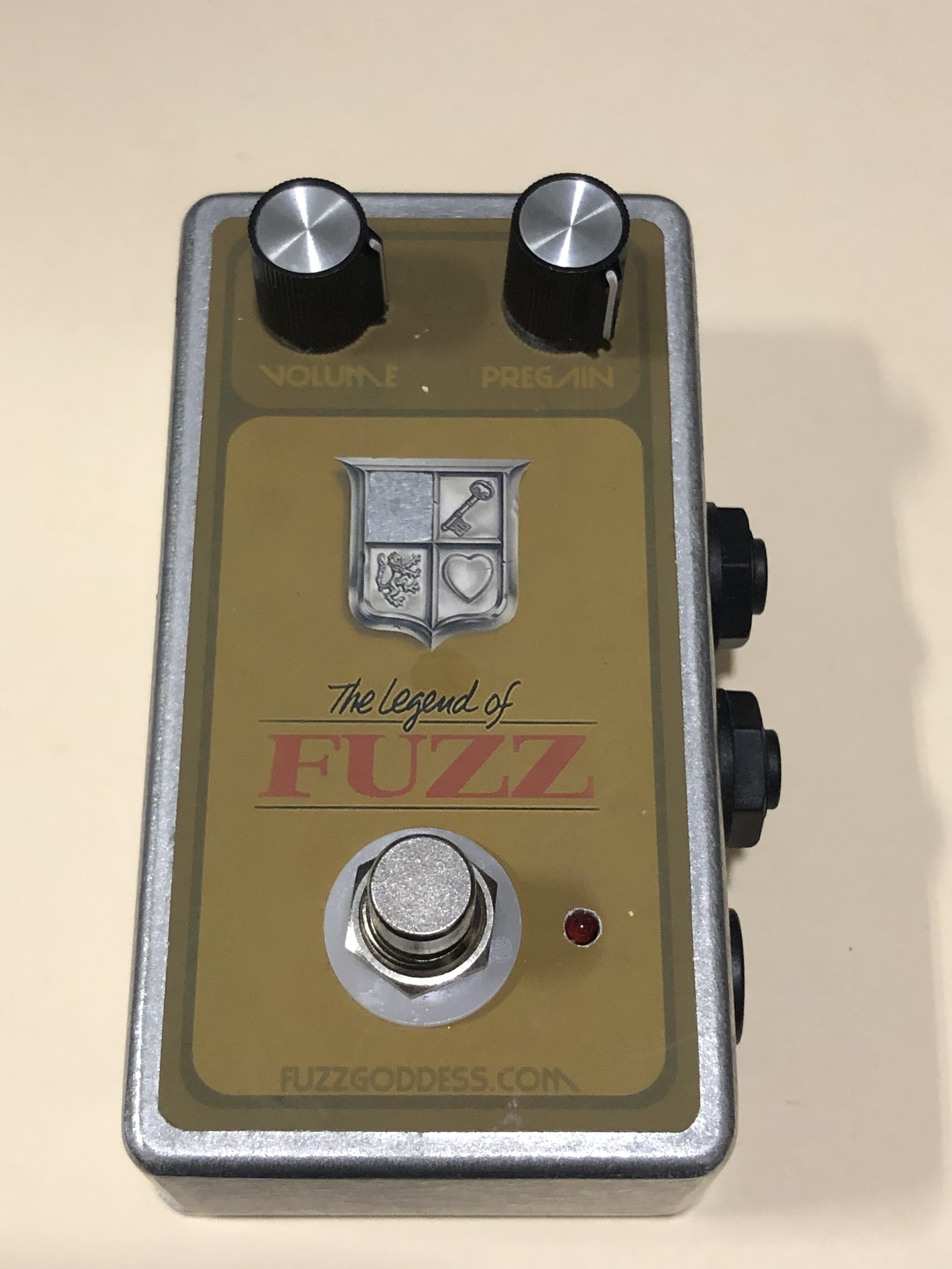 DEVI EVER - LEGEND OF FUZZ - EFFECTS PEDAL