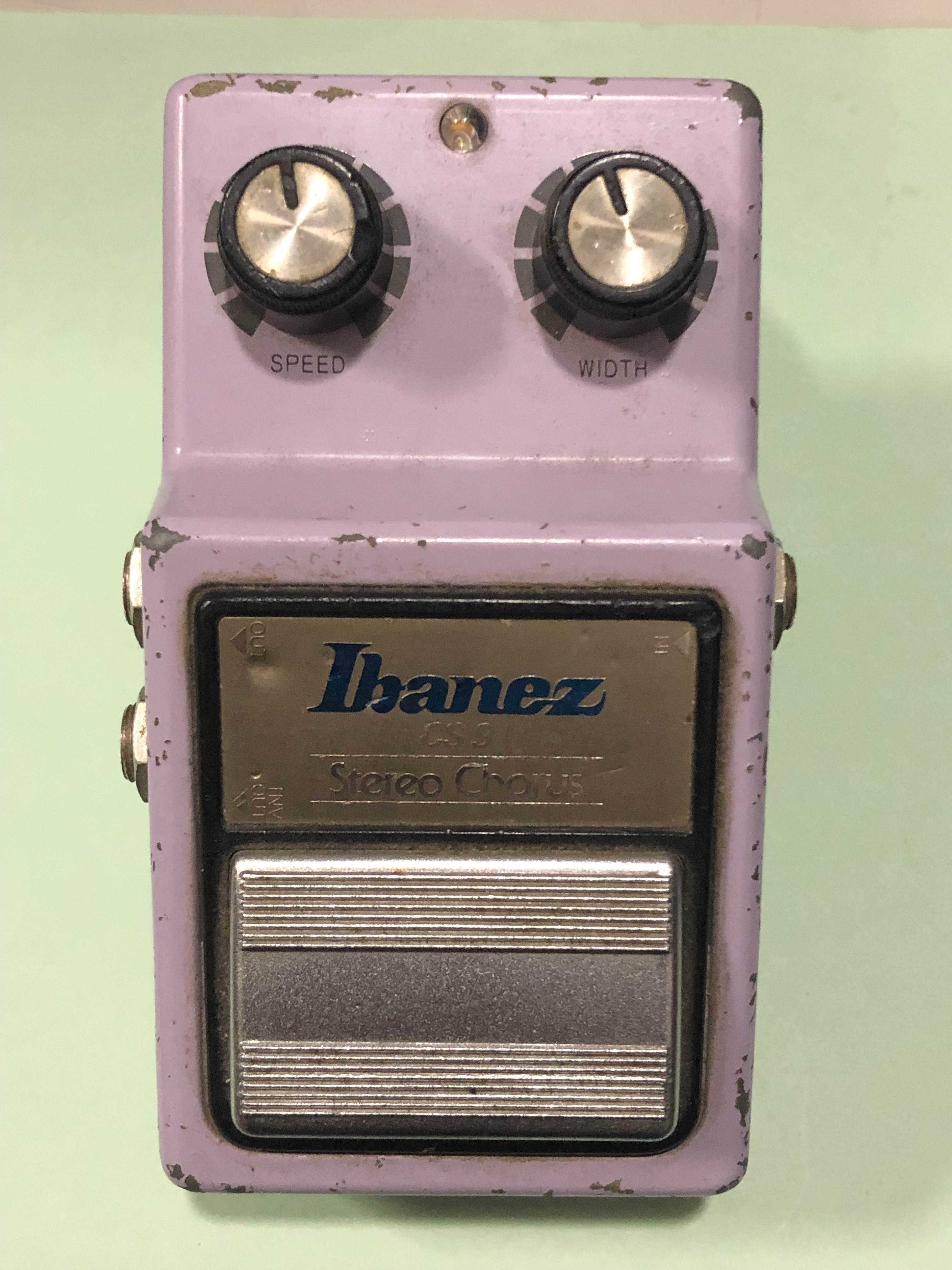 IBANEZ - CS9 - STEREO CHORUS MODULATION  EFFECTS PEDAL