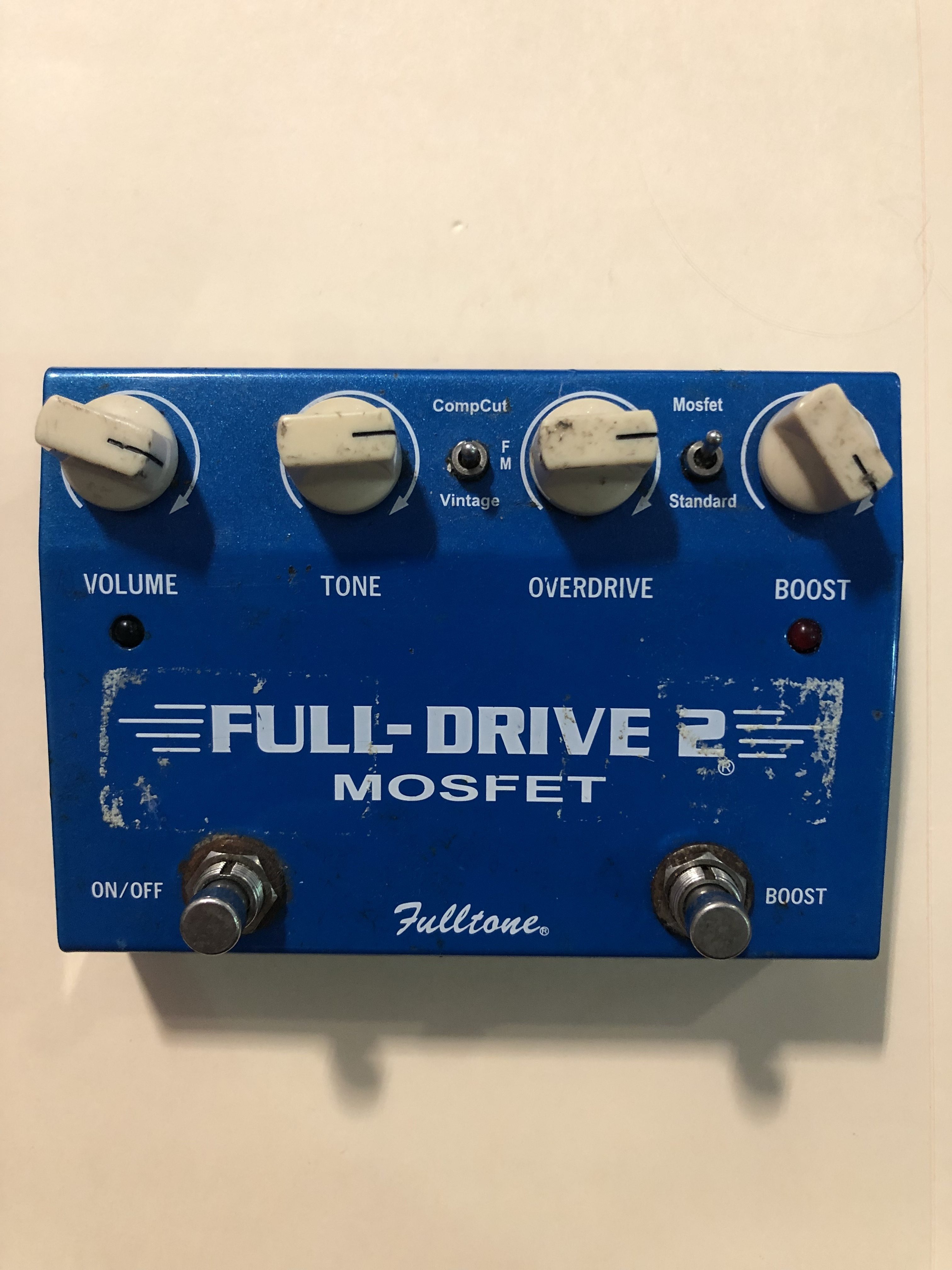FULLTONE - FULL-DRIVE 2 MOSFET -  OVERDRIVE EFFECTS PEDAL