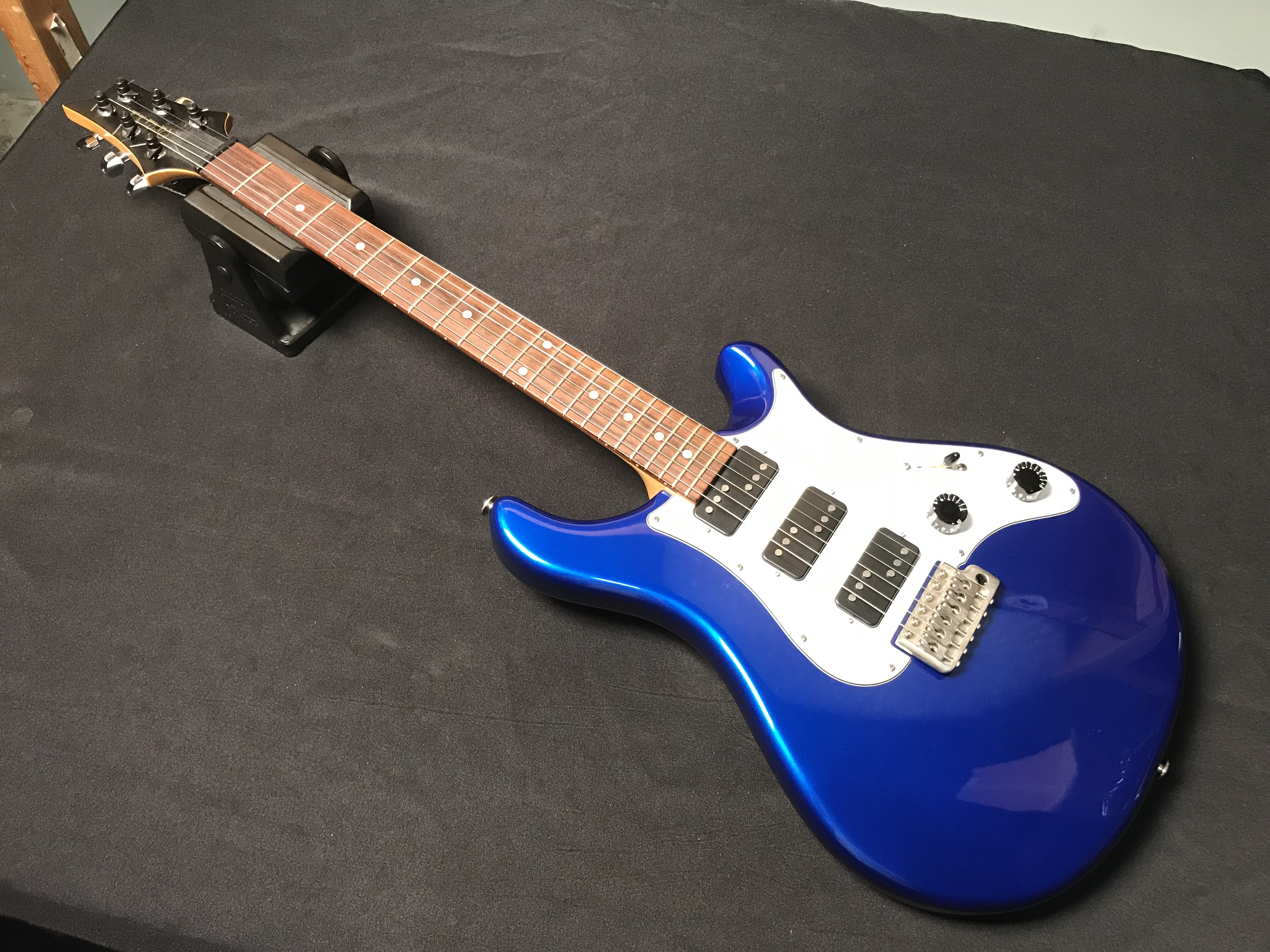 PRS EG3 1992 Blue HHH Electric Guitar OHSC