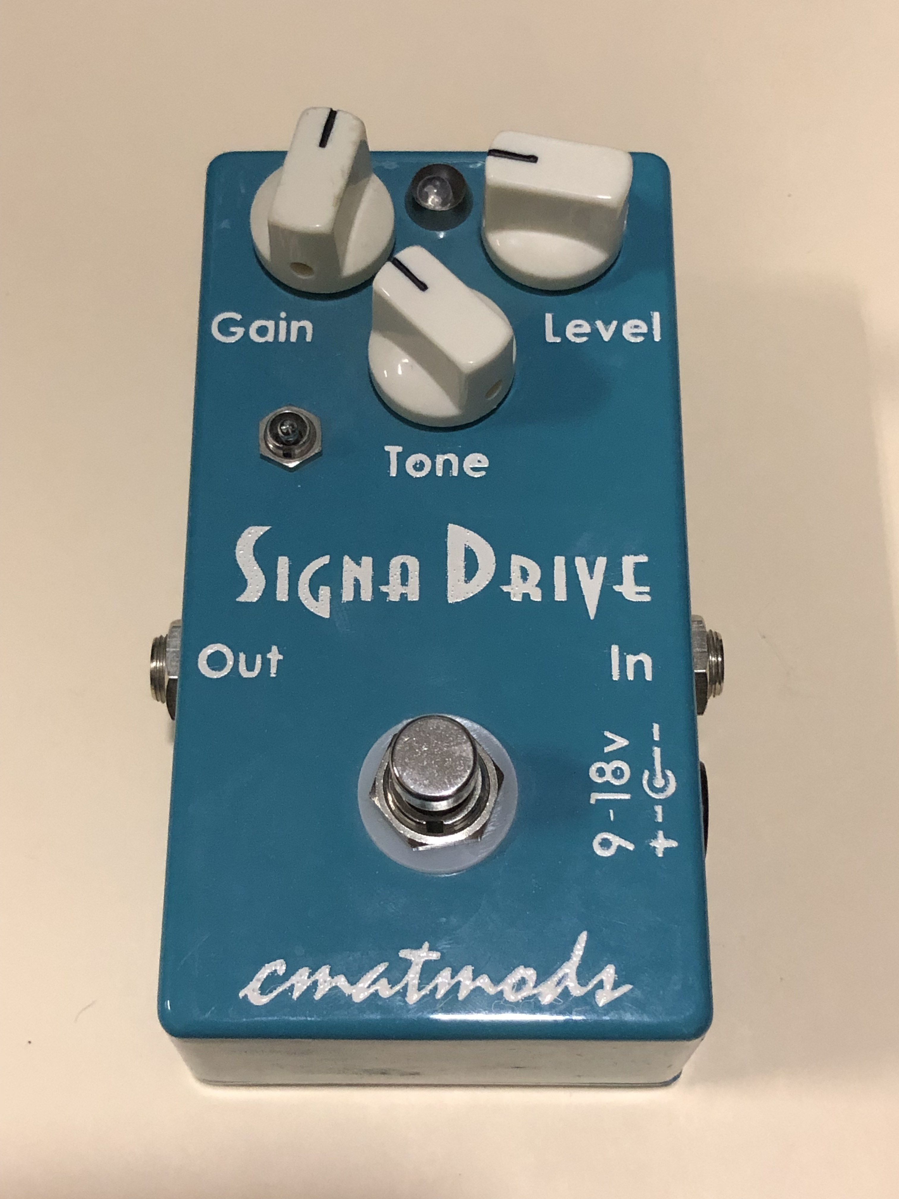 CMATMODS - SIGNA DRIVE - OVERDRIVE EFFECTS PEDAL