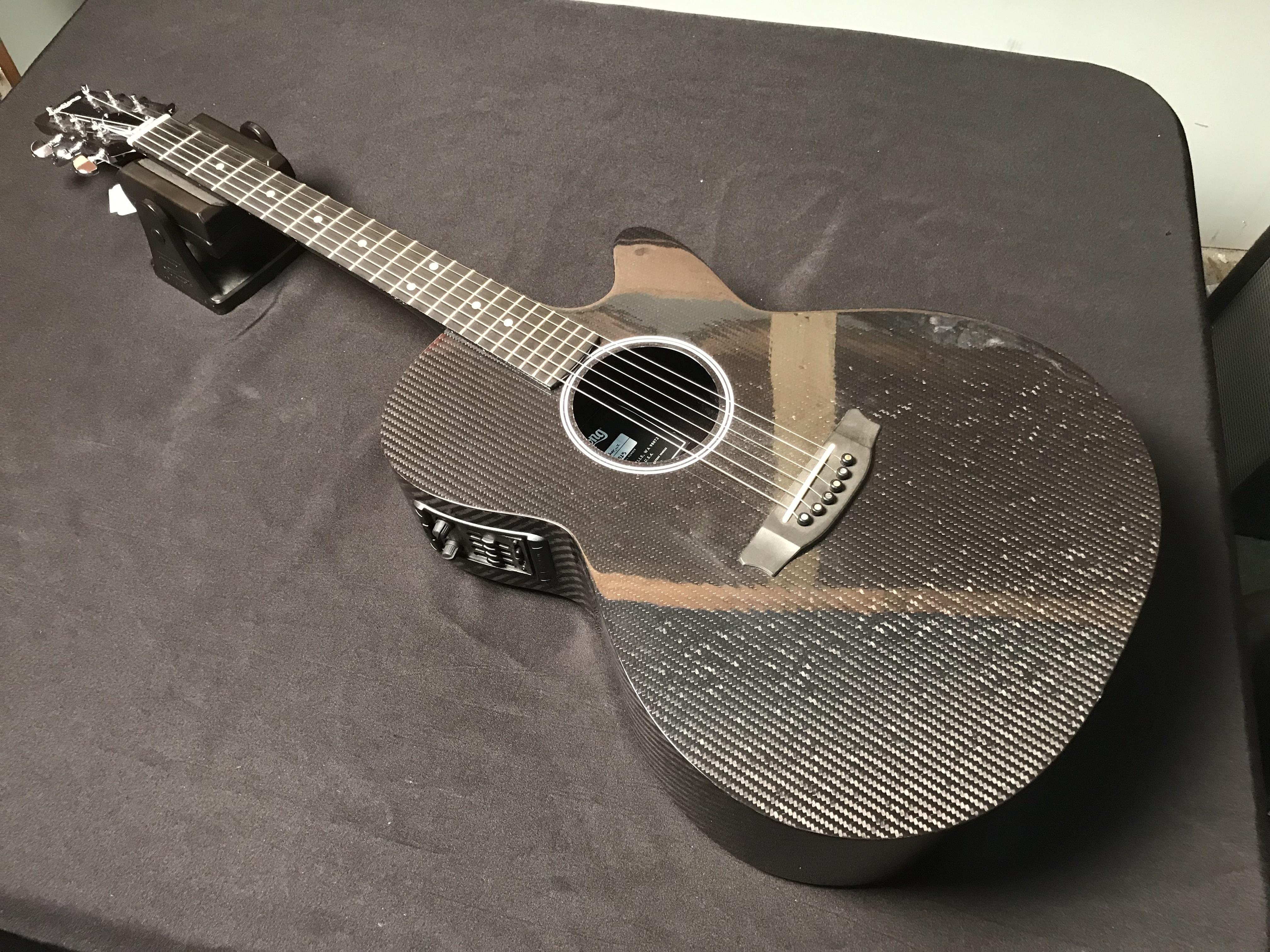 RAINSONG H-WS1000N2 Concert Series Carbon Fiber Acoustic-Electric Guitar HSC