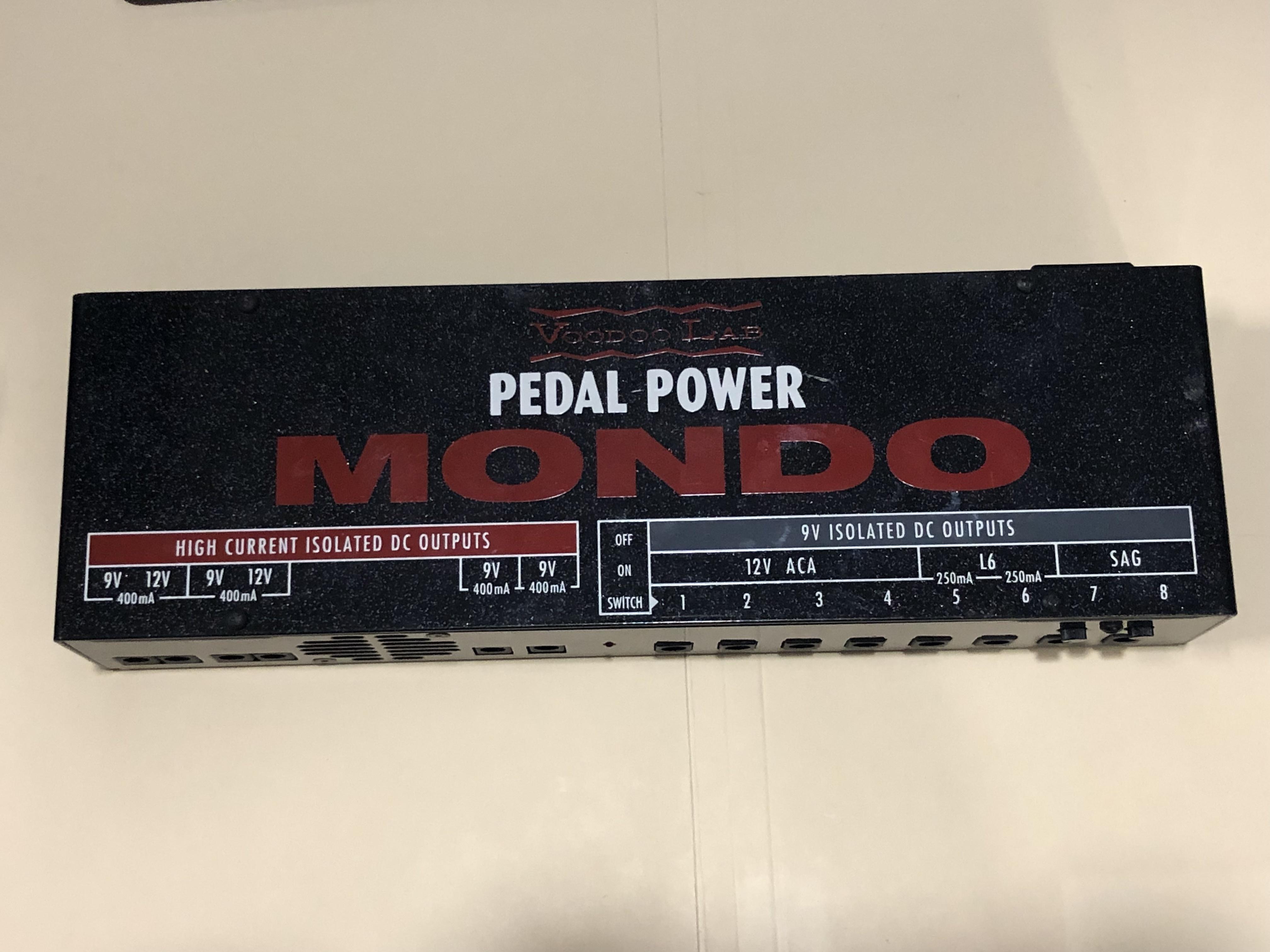 VOODOO LAB PEDAL POWER - MONDO POWER SUPPLY - POWER SUPPLY