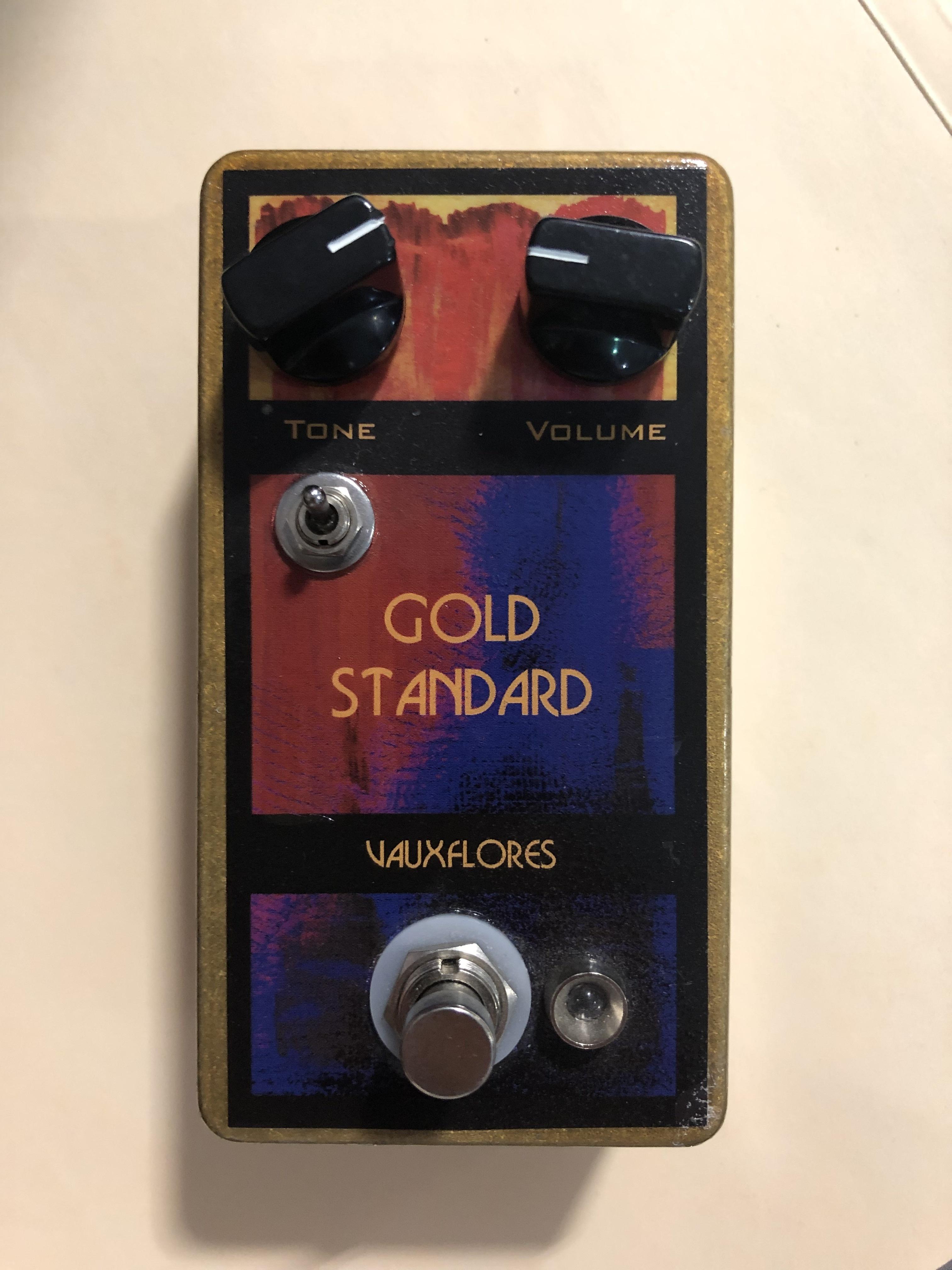 VAUXFLORES - GOLD STANDARD - FUZZ EFFECTS PEDAL