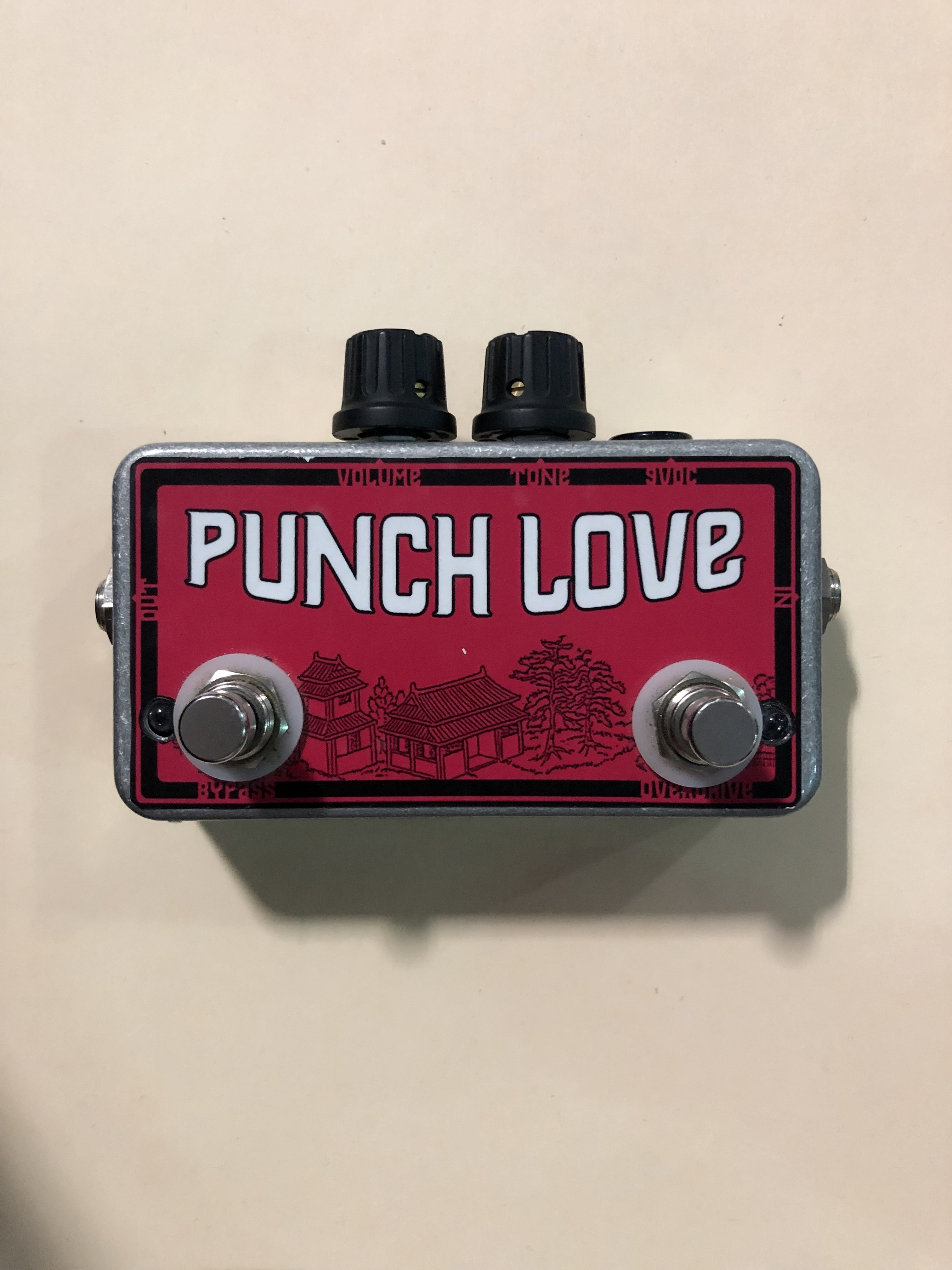 DEVI EVER - PUNCH LOVE - OVERDRIVE EFFECTS PEDAL