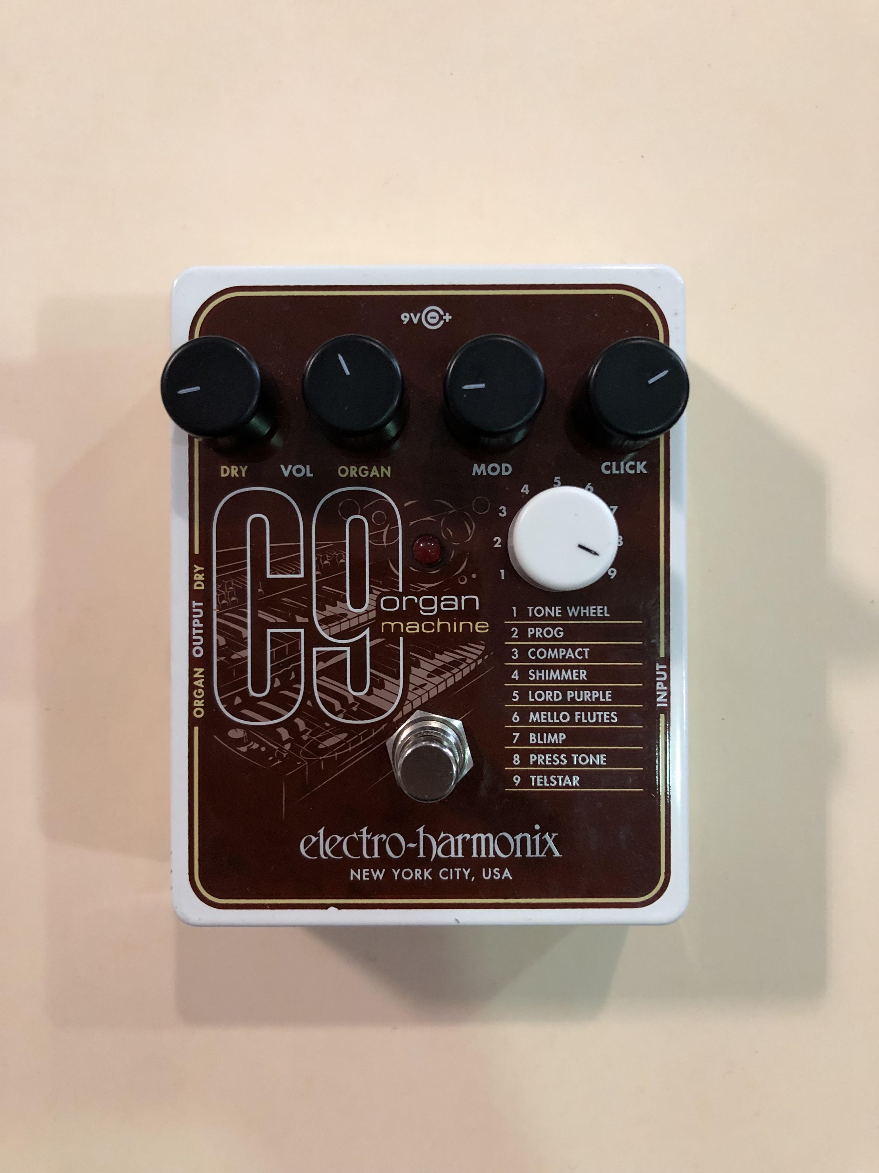 ELECTRO-HARMONIX - C9 ORGAN MACHINE - EFFECTS PEDAL