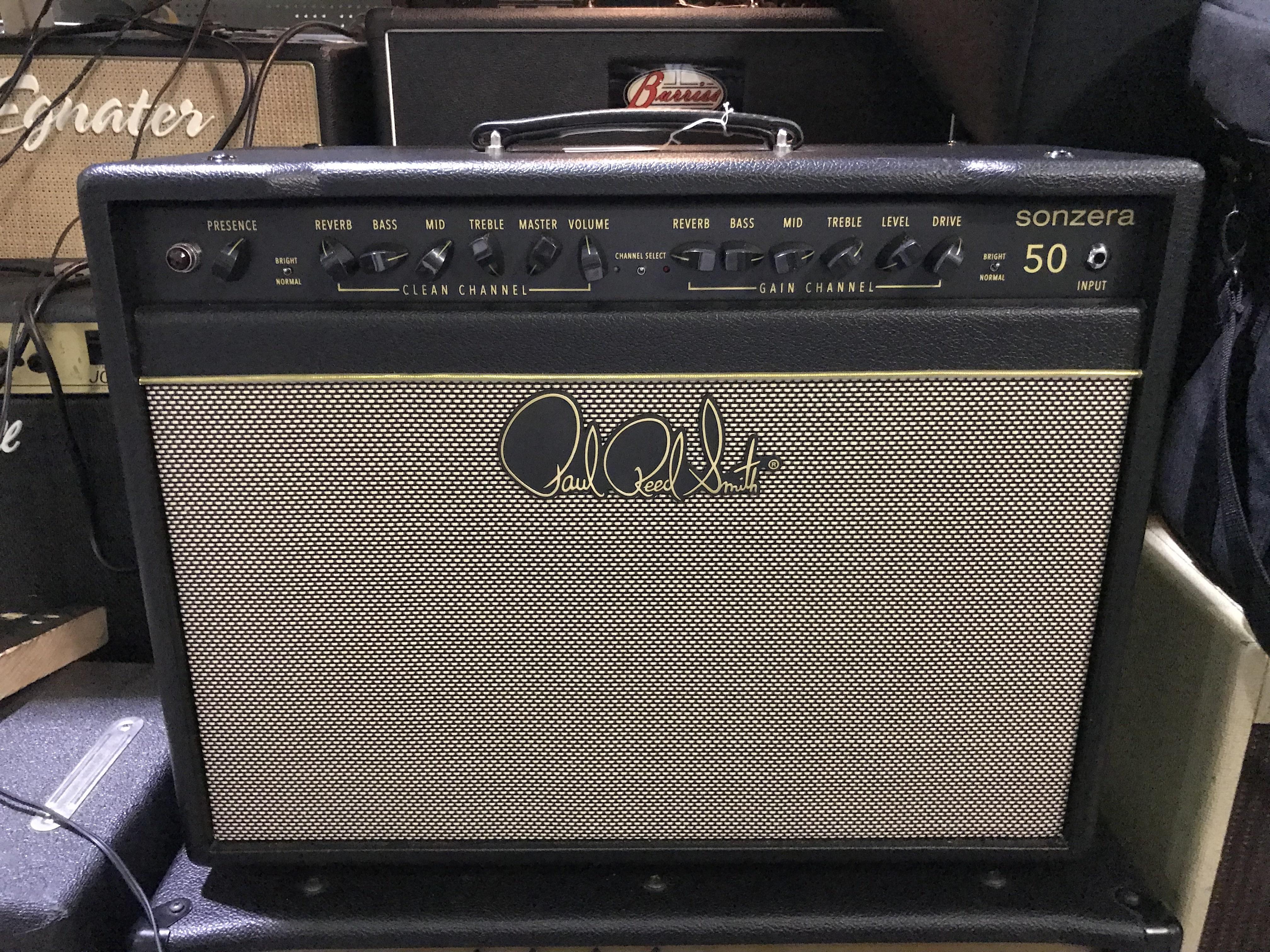 PRS SONZERA 50 50W 1X12 Tube Combo Guitar Amp