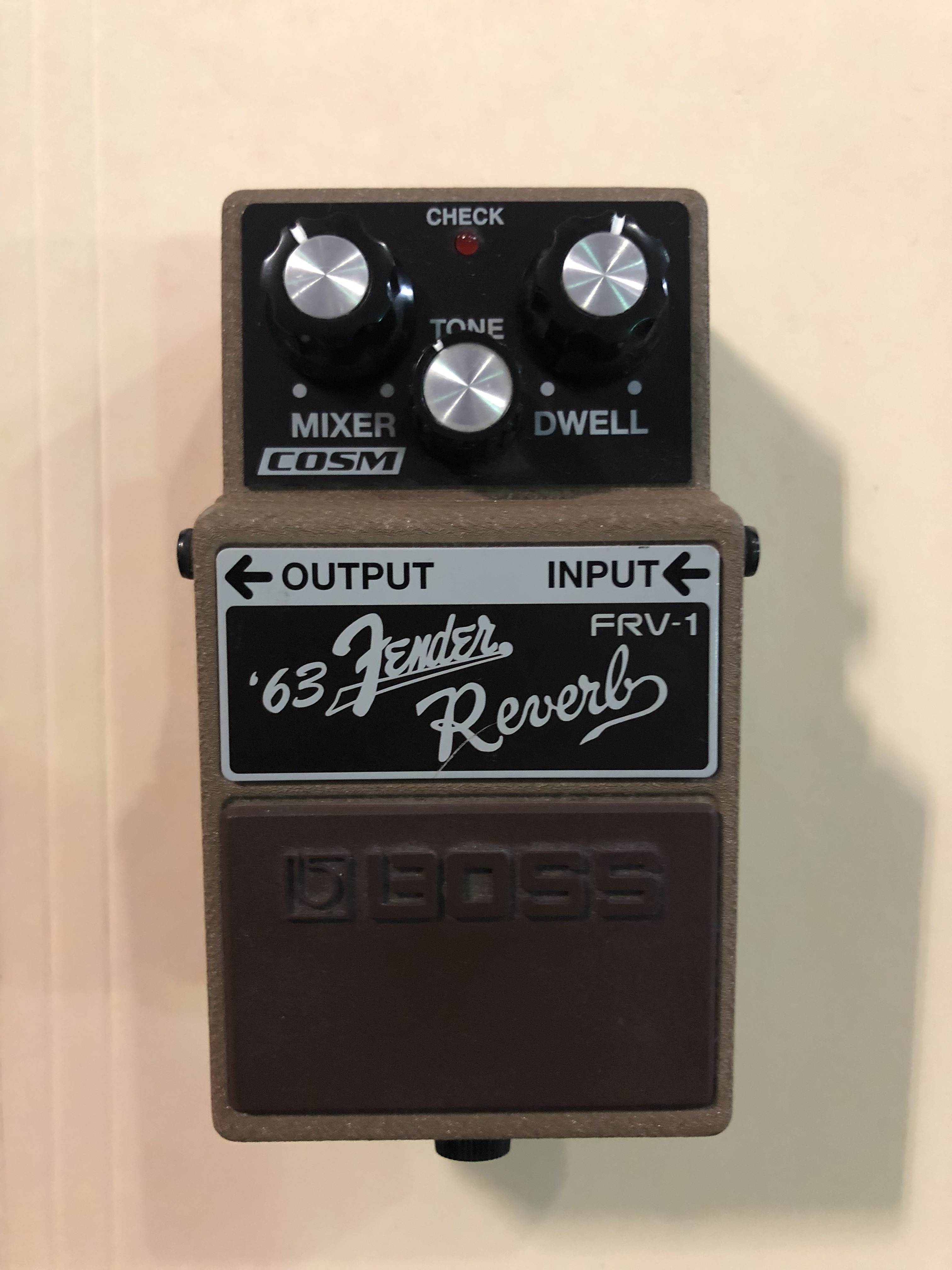 BOSS - 63 REVERB PEDAL - EFFECTS PEDAL