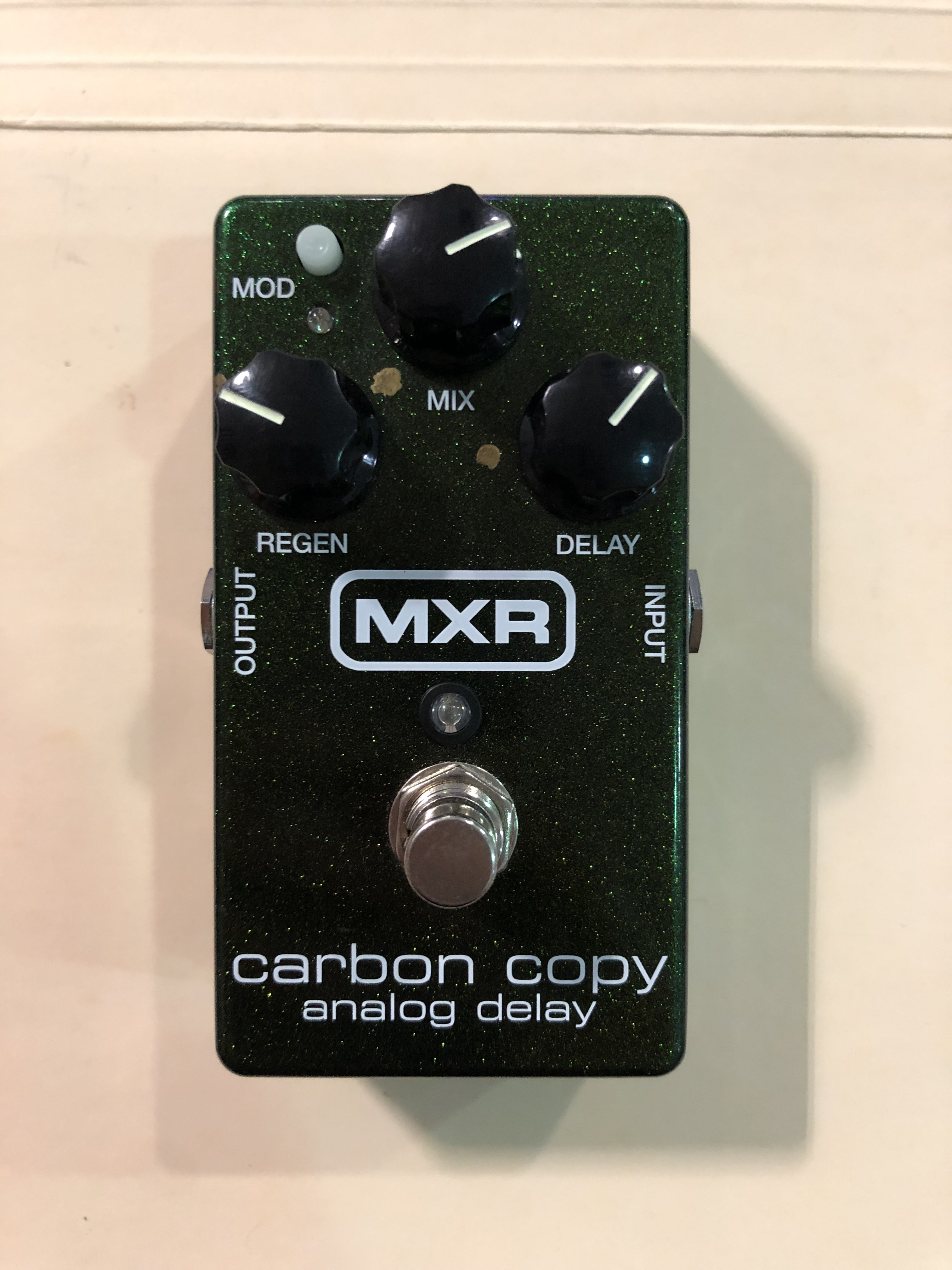 MXR - CARBON COPY - DELAY EFFECTS PEDAL