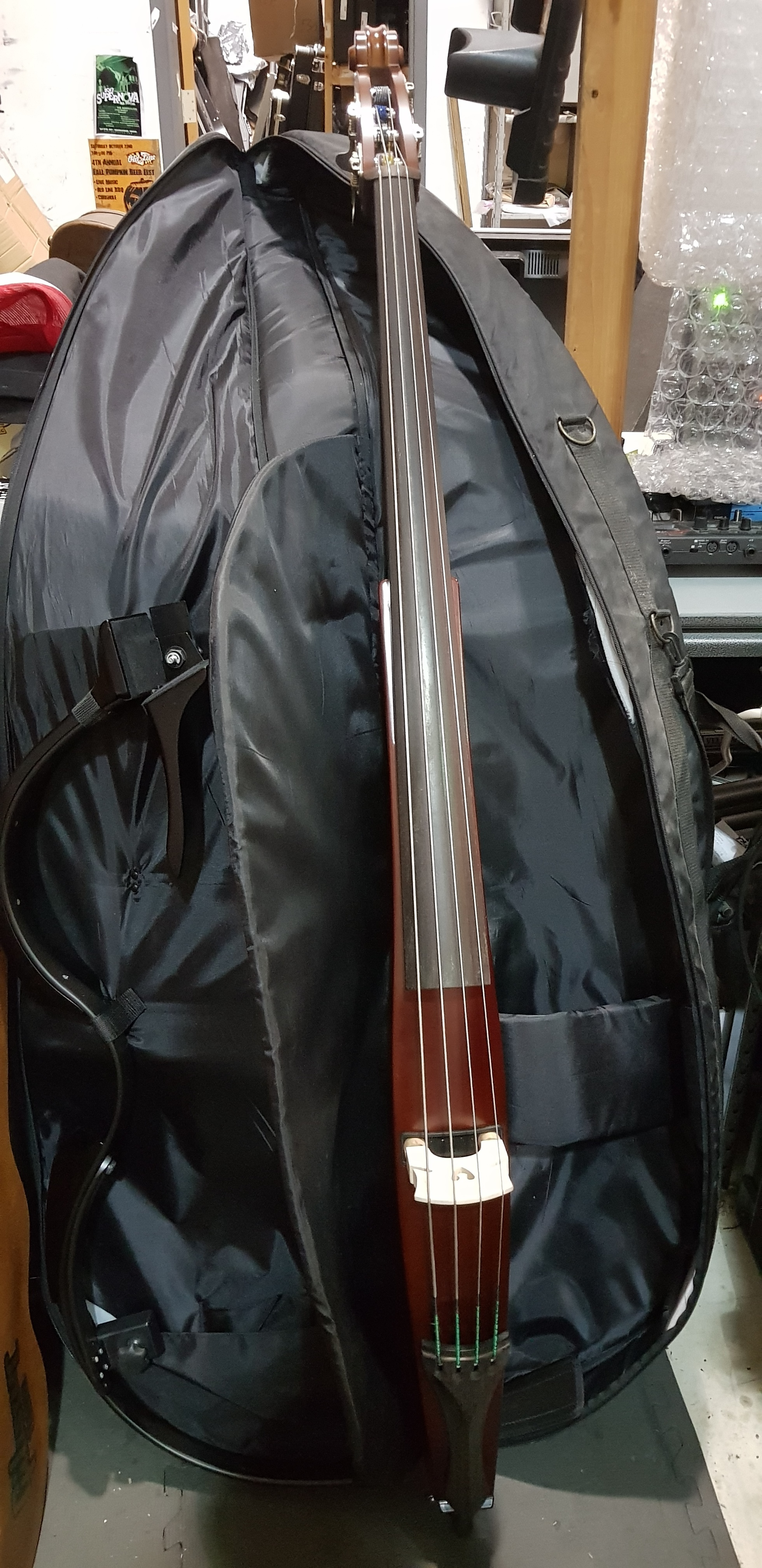 YAMAHA Silent Bass Model SLB-100 Upright Bass w/ Bag - Local Pickup Only!