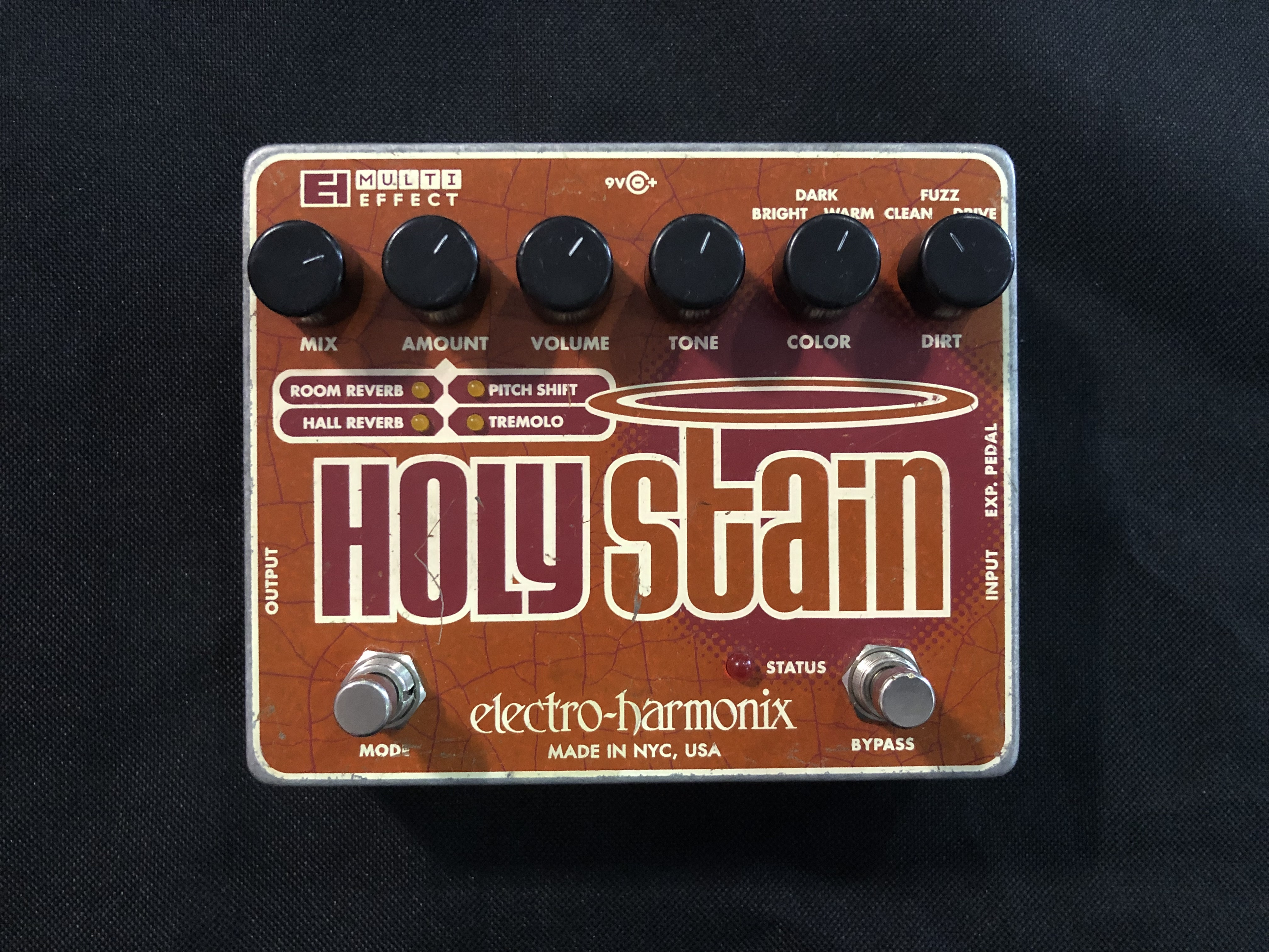 ELECTRO-HARMONIX - HOLY STAIN - MULTI EFFECTS PEDAL