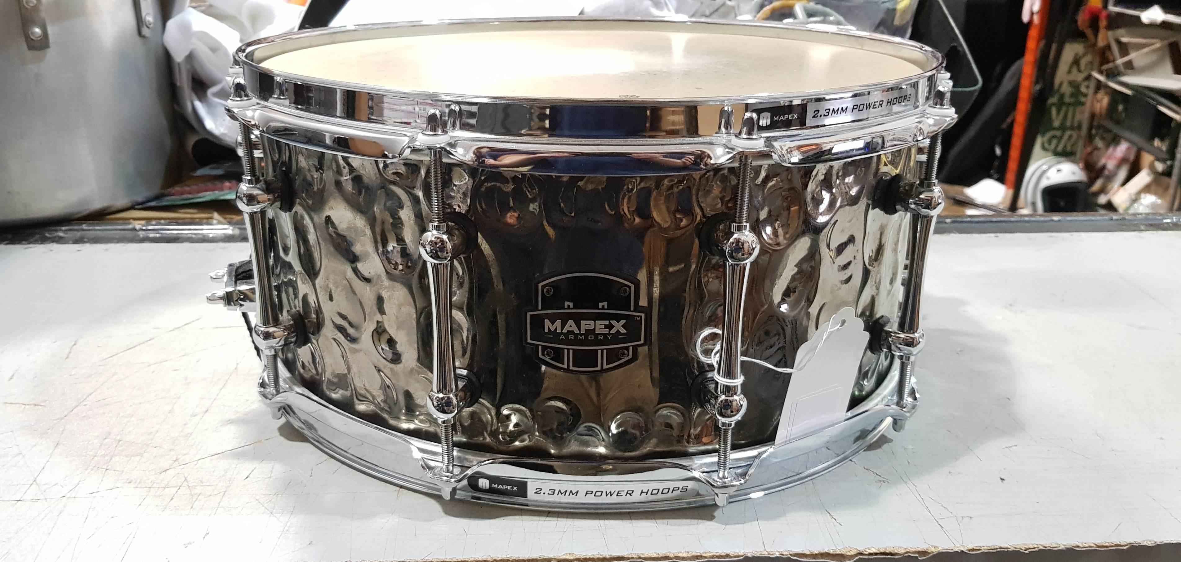 MAPEX ARMORY SERIES Hammered Daisy Cutter Snare Drum 6.5