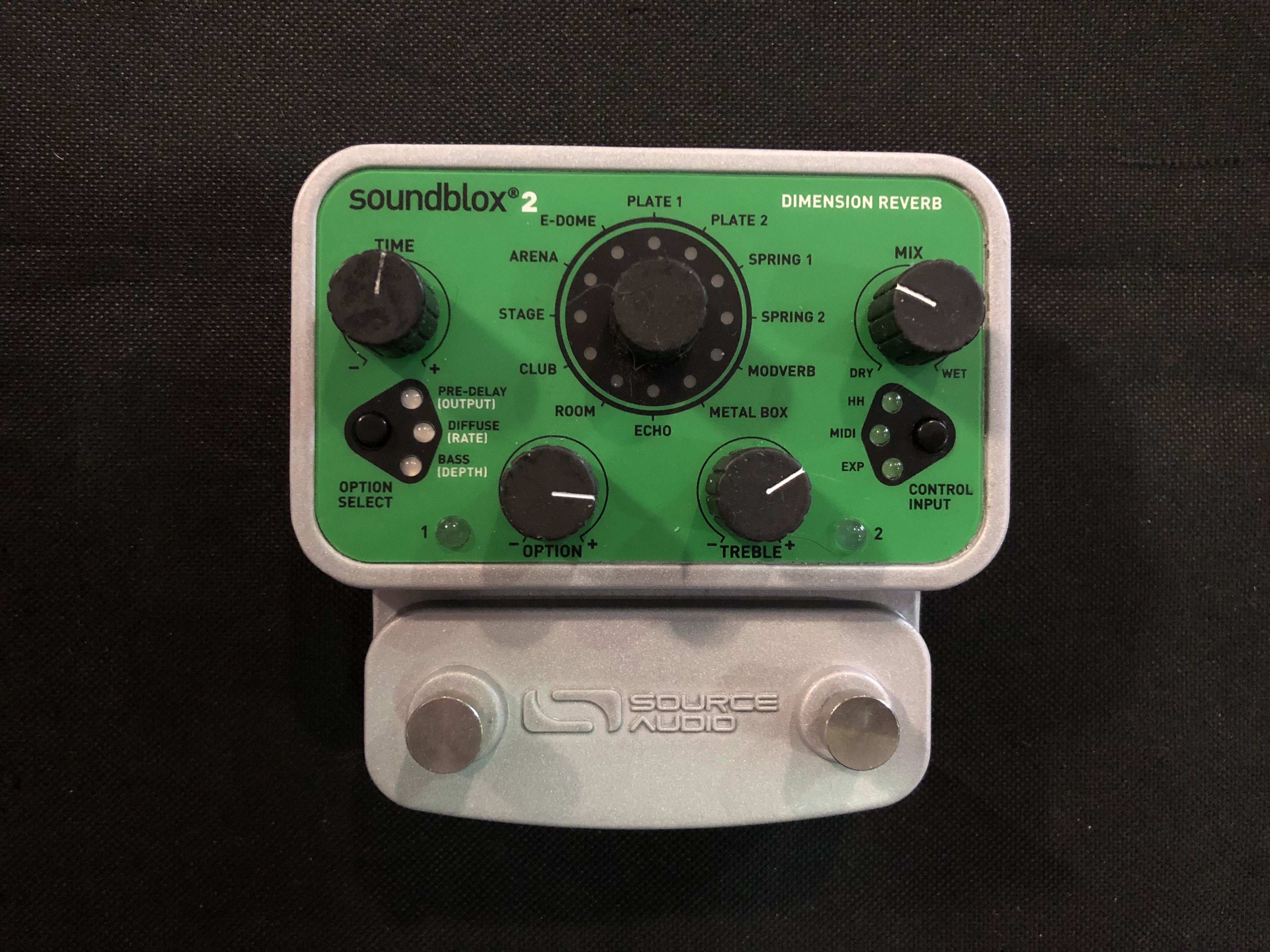 SOURCE AUDIO - DIMENSION REVERB - EFFECTS PEDAL