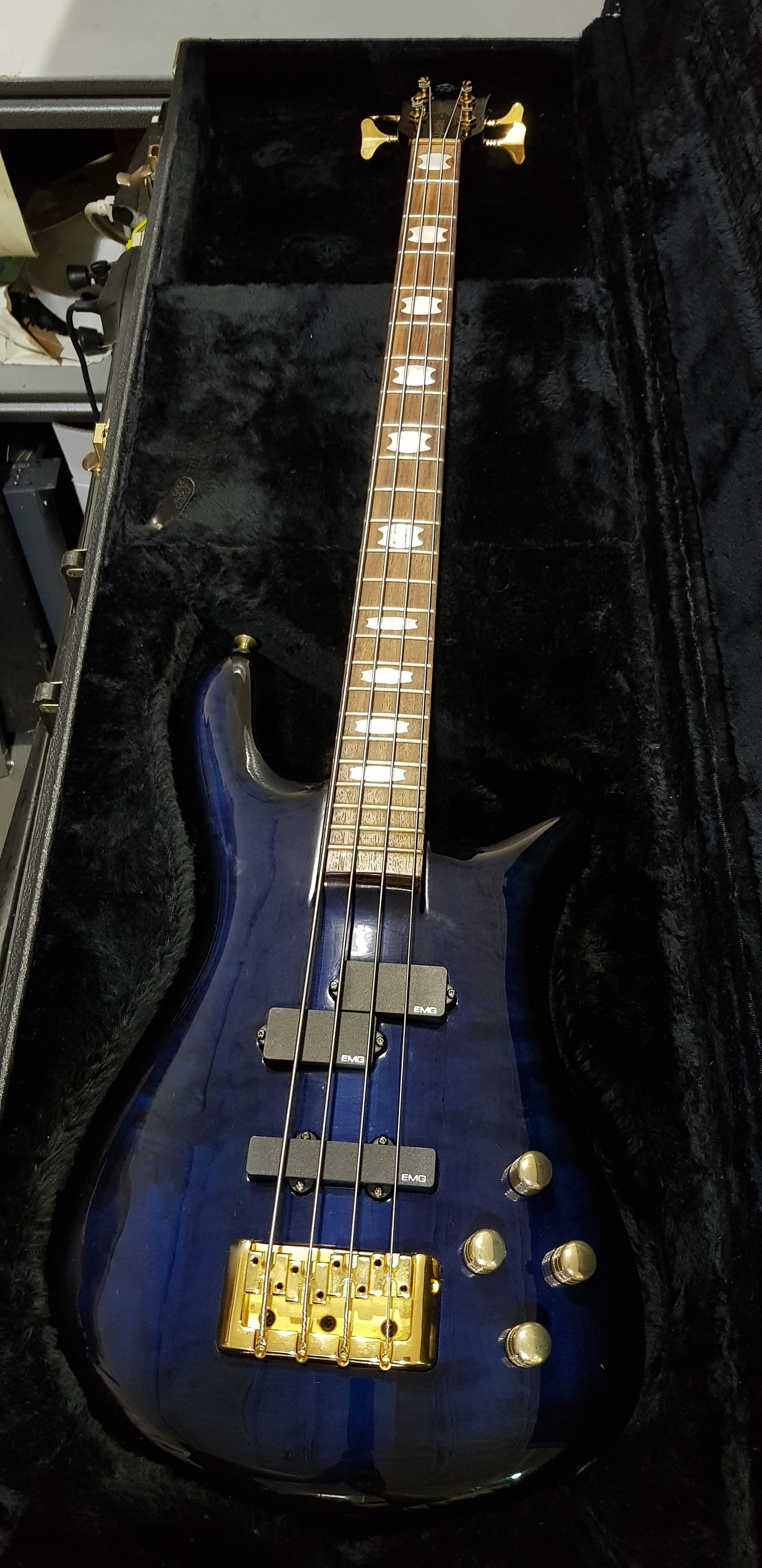 SPECTOR EURO 4 Electric Bass **HSC** Transparent Blue-burst