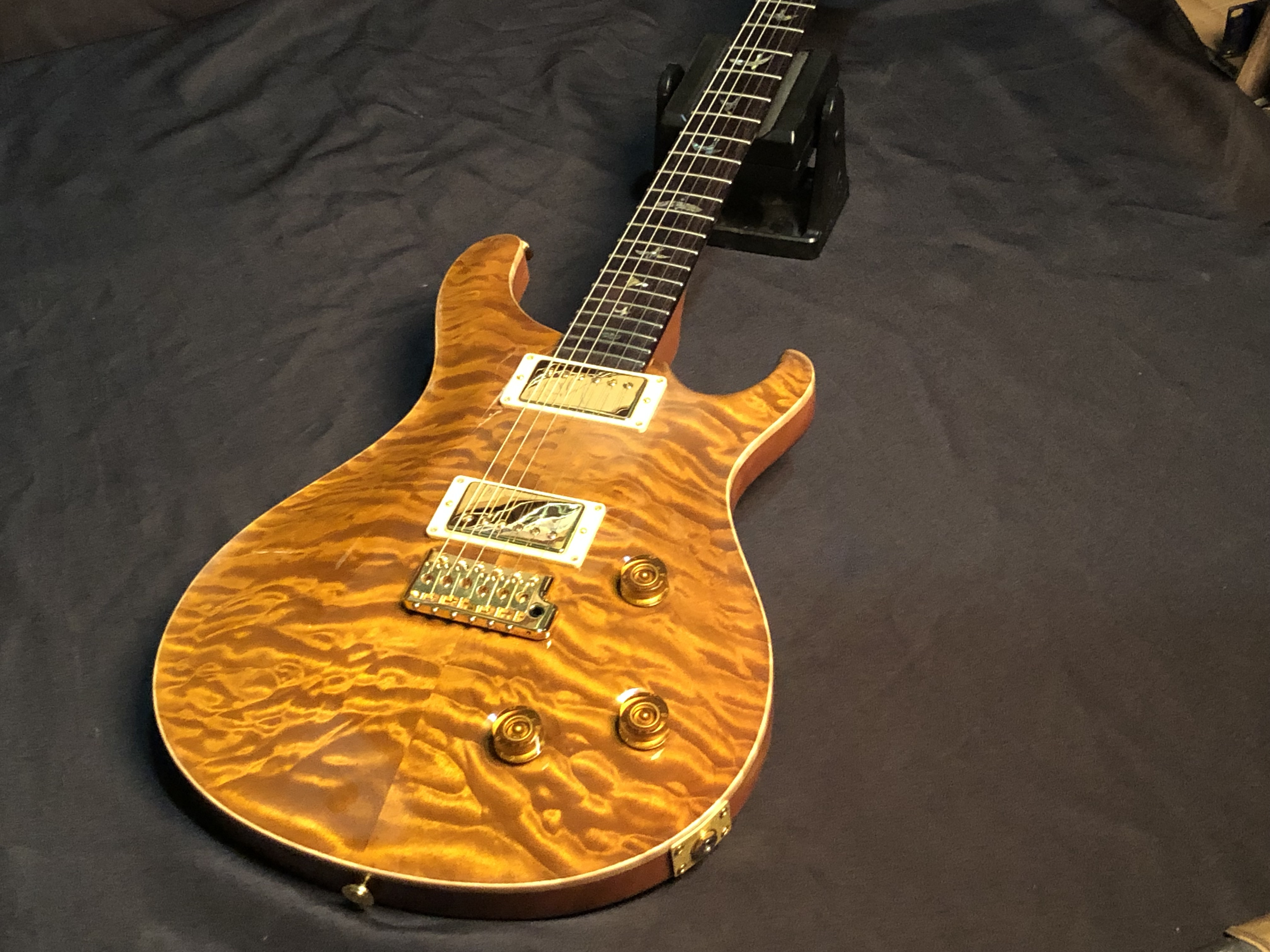 2002 PAUL REED SMITH PRS - CUSTOM 22 AMBER- ELECTRIC GUITAR