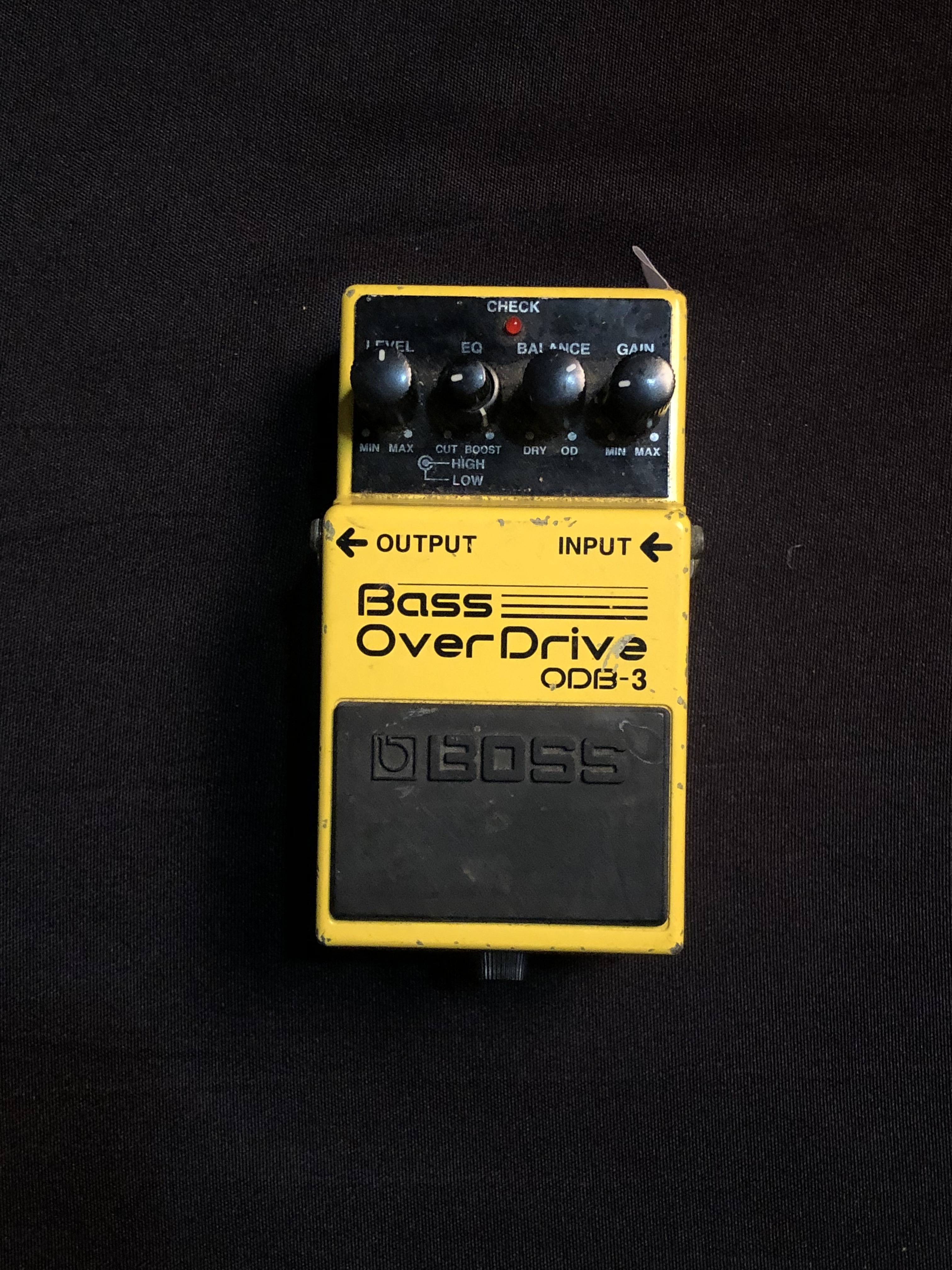 BOSS - ODB-3 - Overdrive Effects Pedal