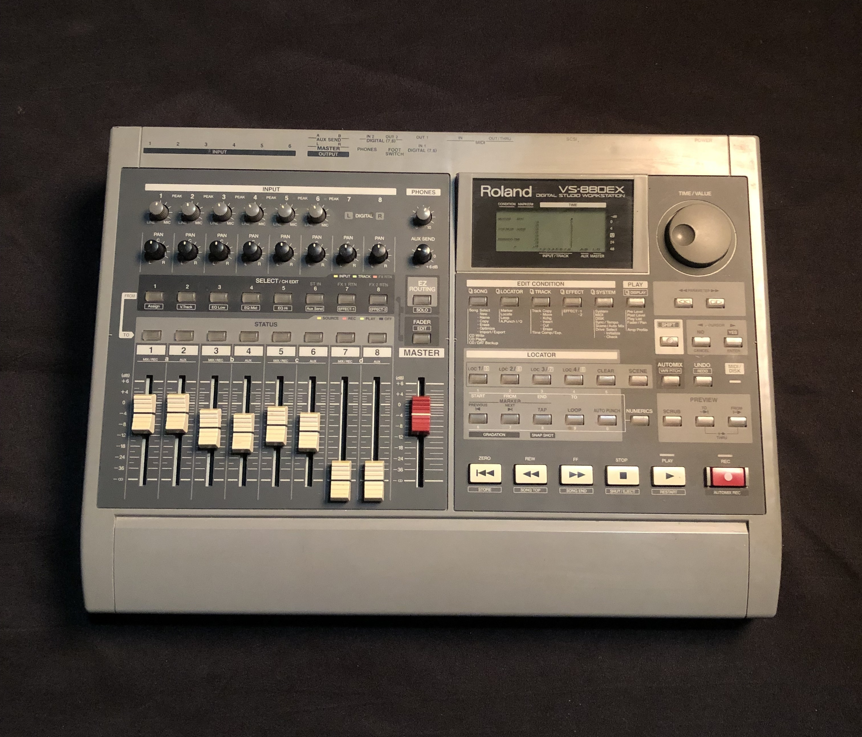 ROLAND - VS-880EX - Digital Studio Workstation