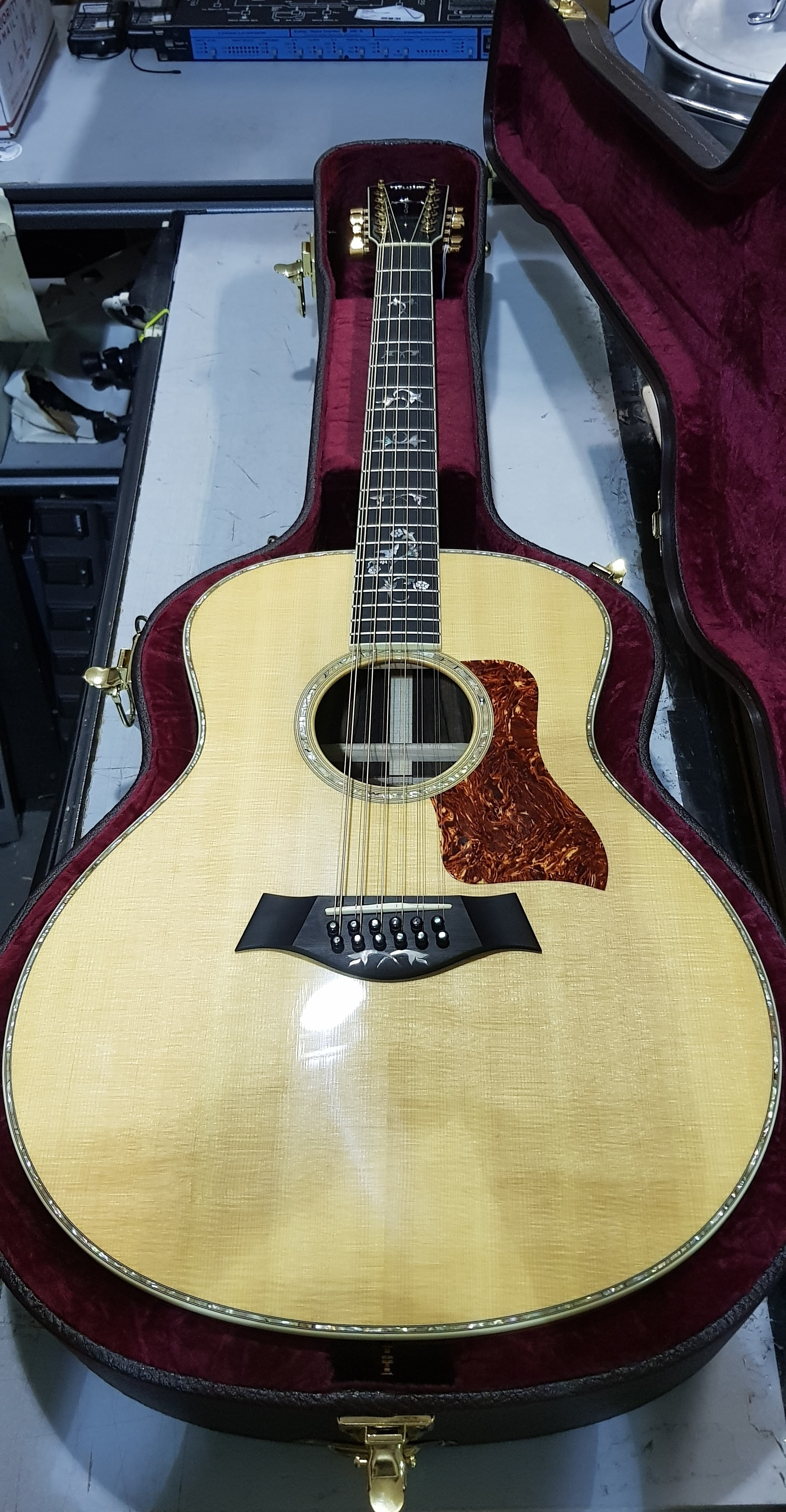 2007 TAYLOR Custom GS-12 12-String Acoustic Guitar **HSC**