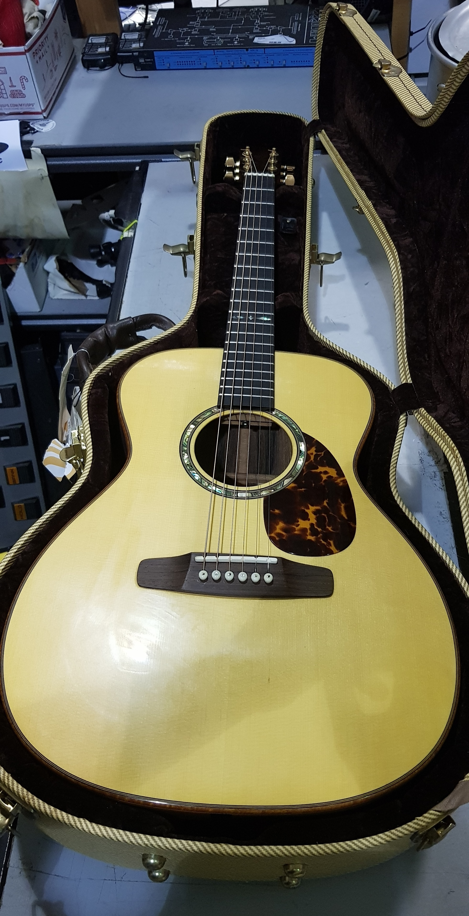 2010 DON MUSSER ORCHESTRA Acoustic Guitar **HSC**