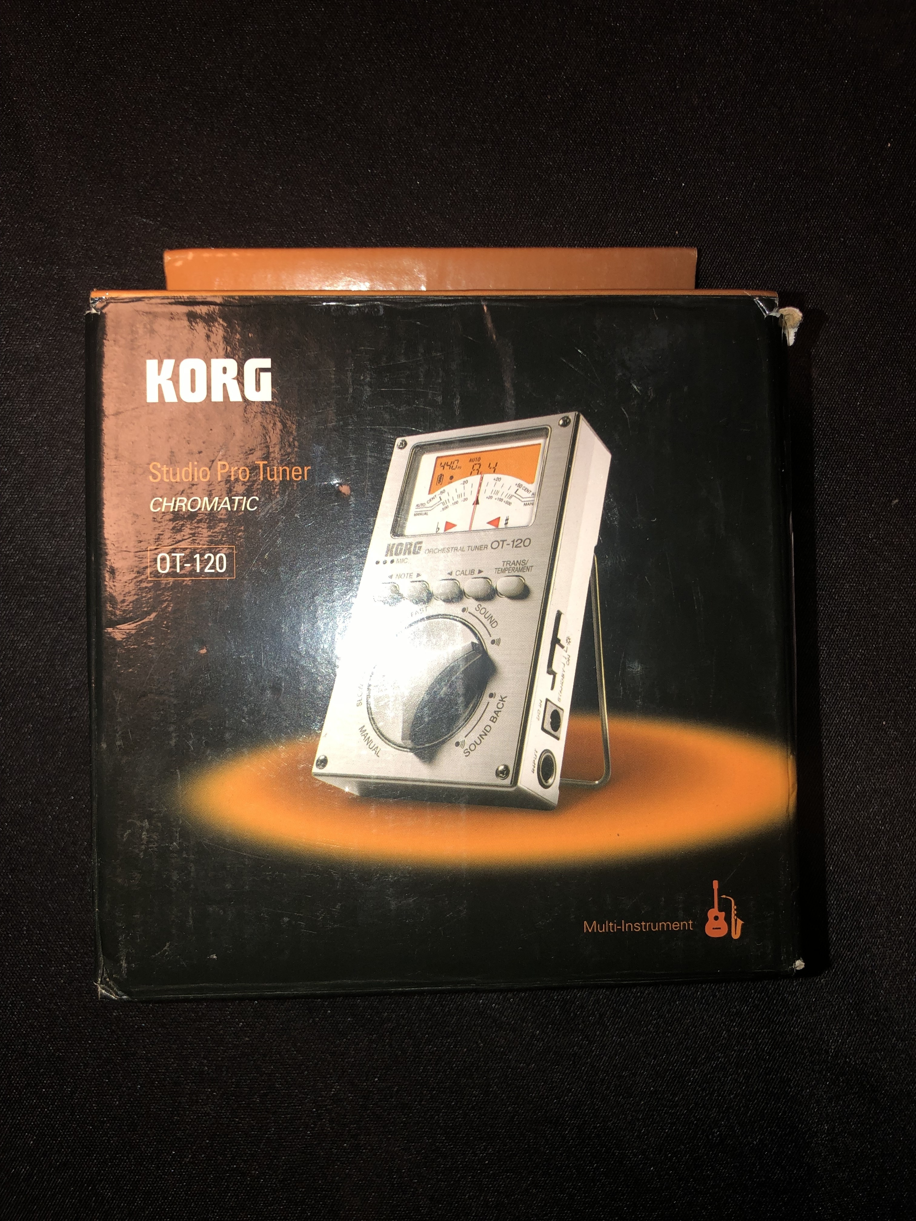 Korg Chromatic Studio Pro Tuner OT-120
