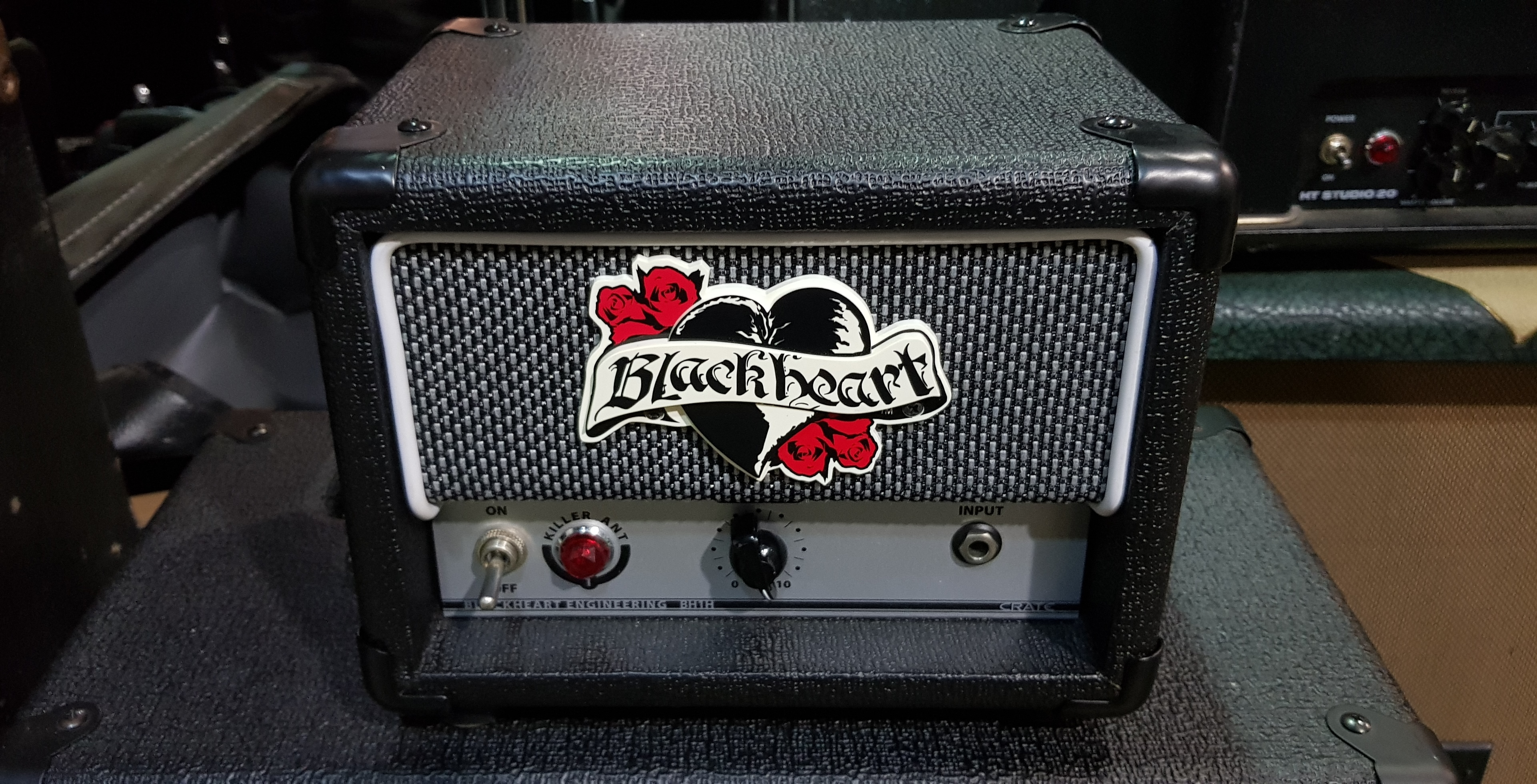 BLACKHEART BH1H Killer Ant 1-Watt Tube Guitar Amp Head