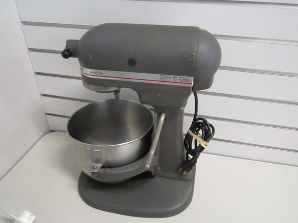 Vintage Kitchenaid Ksm5 Pro Line Household Mixer W 3