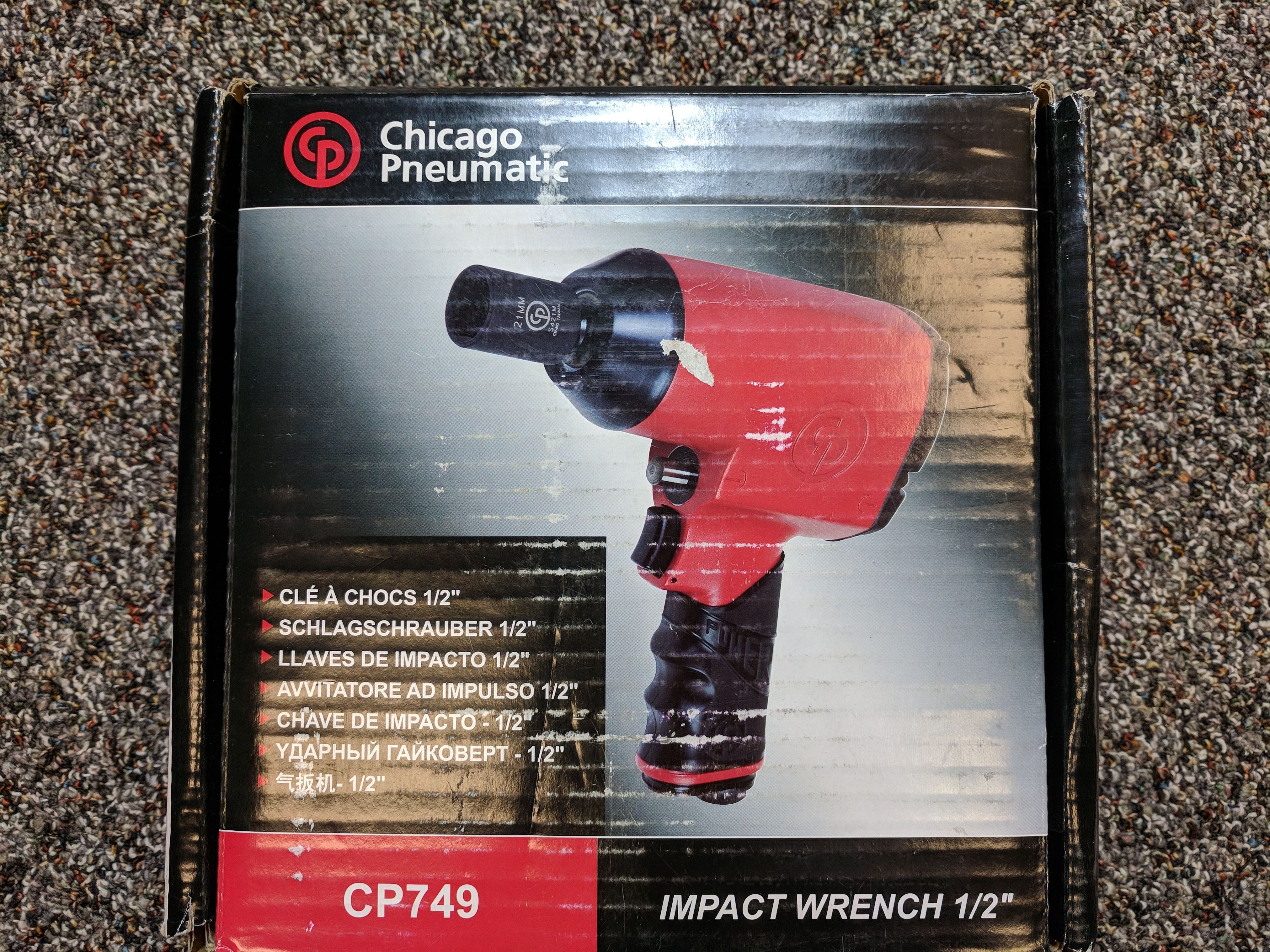 CHICAGO PNEUMATIC SUPER DUTY 1/2