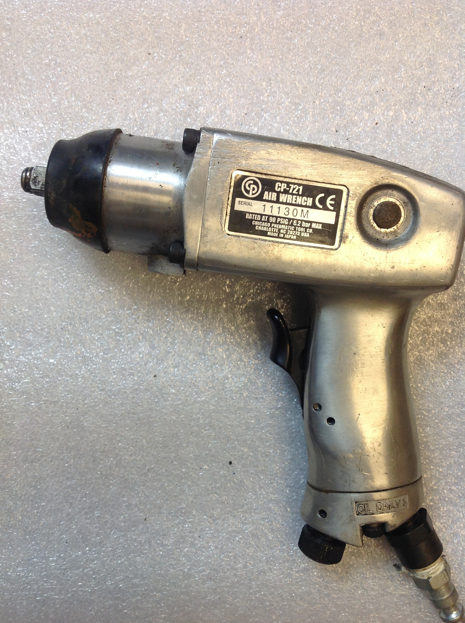 CHICAGO PNEUMATIC 721 AIR WRENCH
