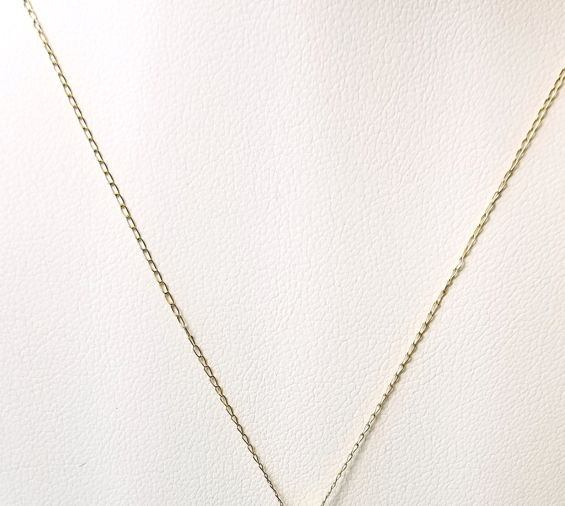 14K Yellow Gold .50g Link Chain 18.5