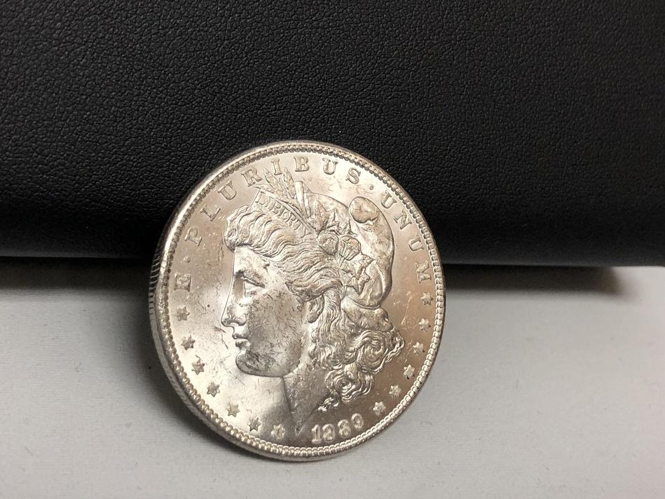 1889 Morgan Silver Dollar in Mint Condition