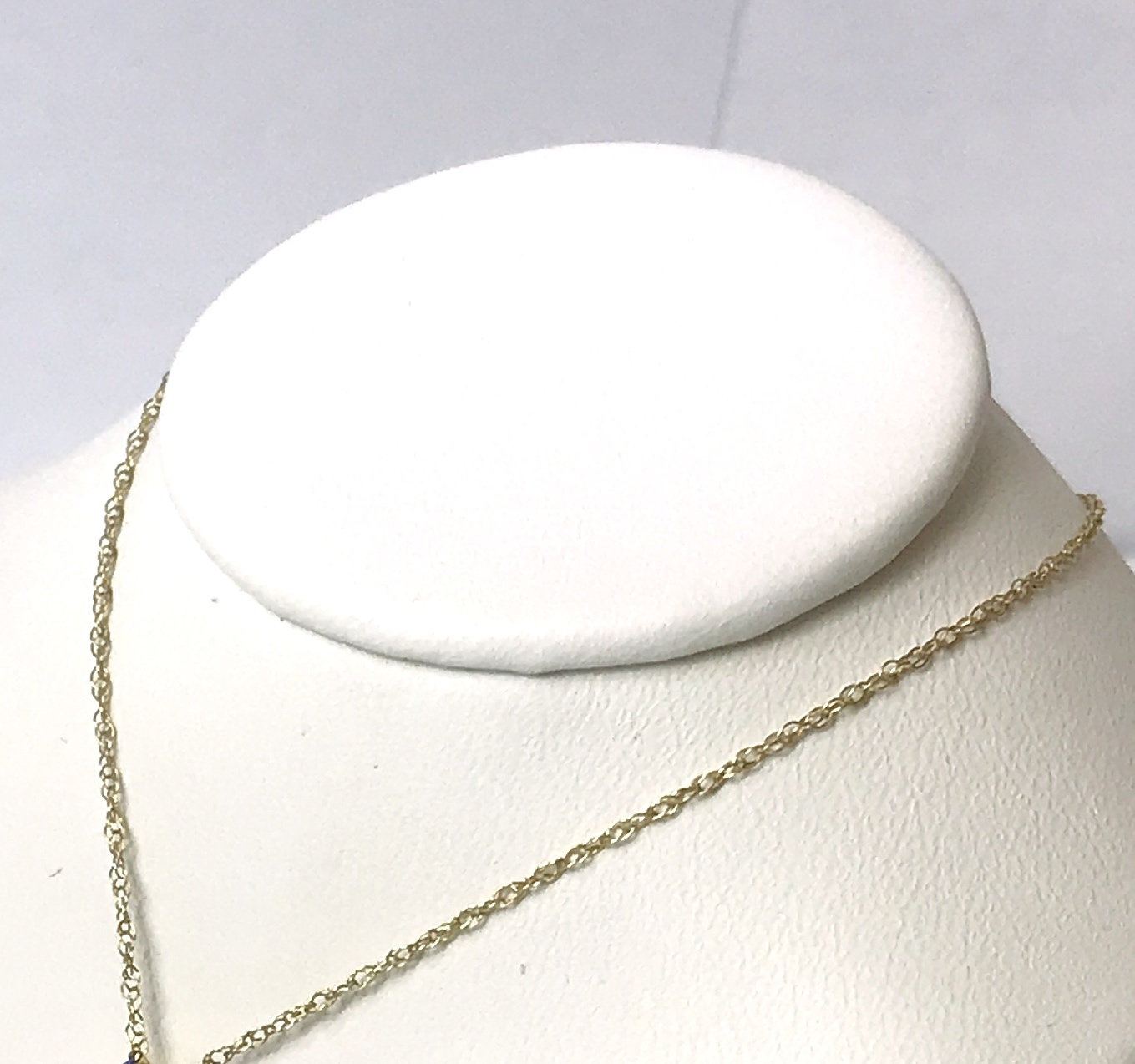 Double Link Chain 10K Yellow Gold .4g