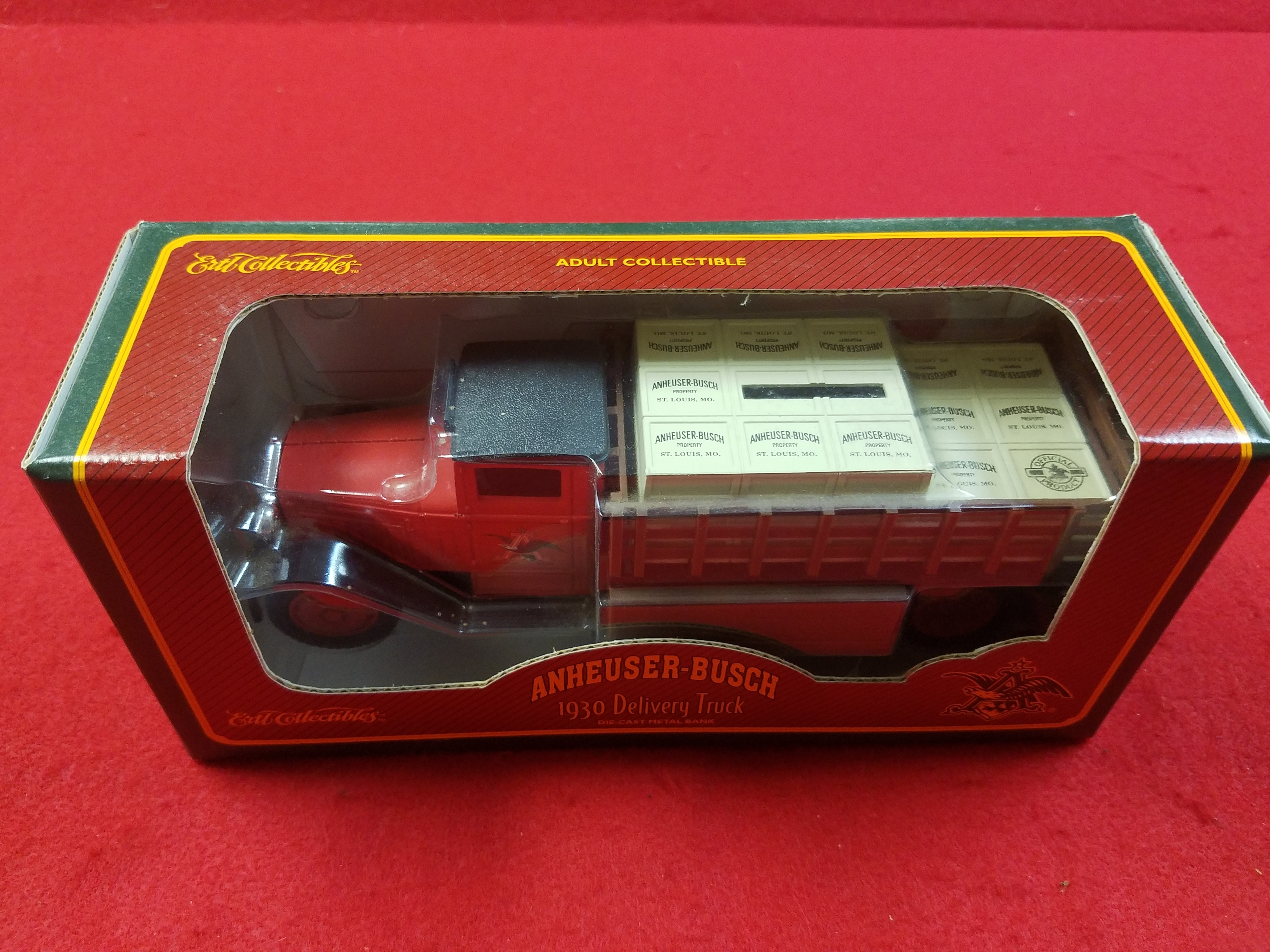 ANHEUSER-BUSCH 1930 DELIVERY TRUCK BANK COLLECTIBLE