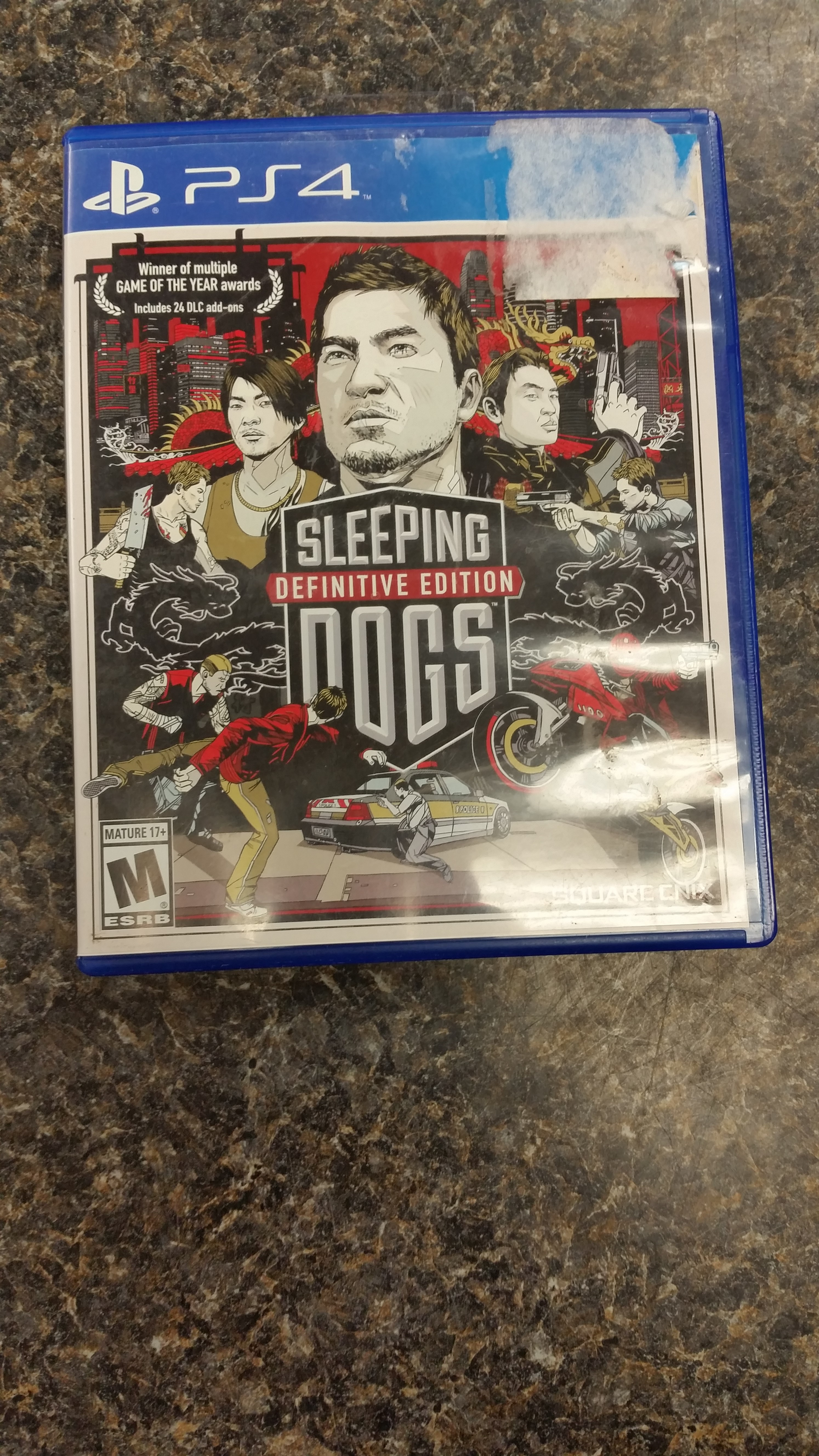 GAMES: PS4 GAME - SLEEPING DOGS - DEFINITE EDITION